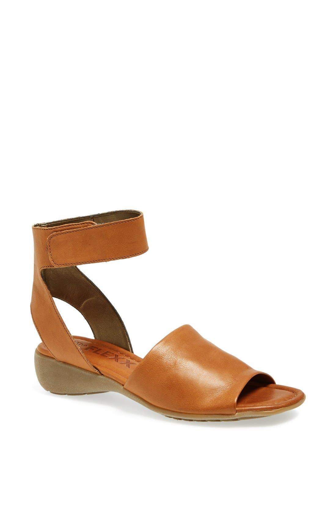'Beglad' Leather Ankle Strap Sandal,                             Main thumbnail 10, color,