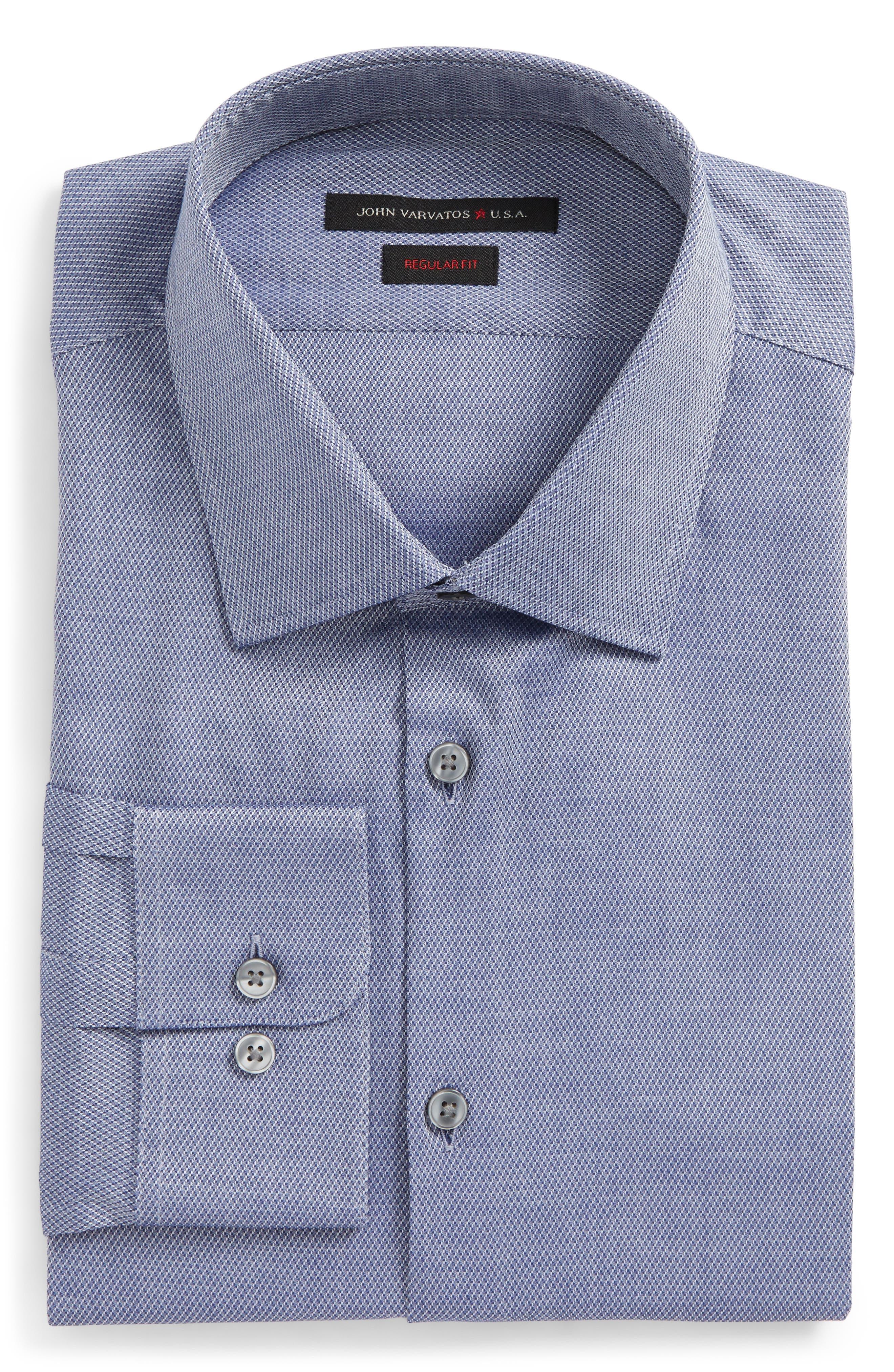Regular Fit Dress Shirt,                         Main,                         color, 439