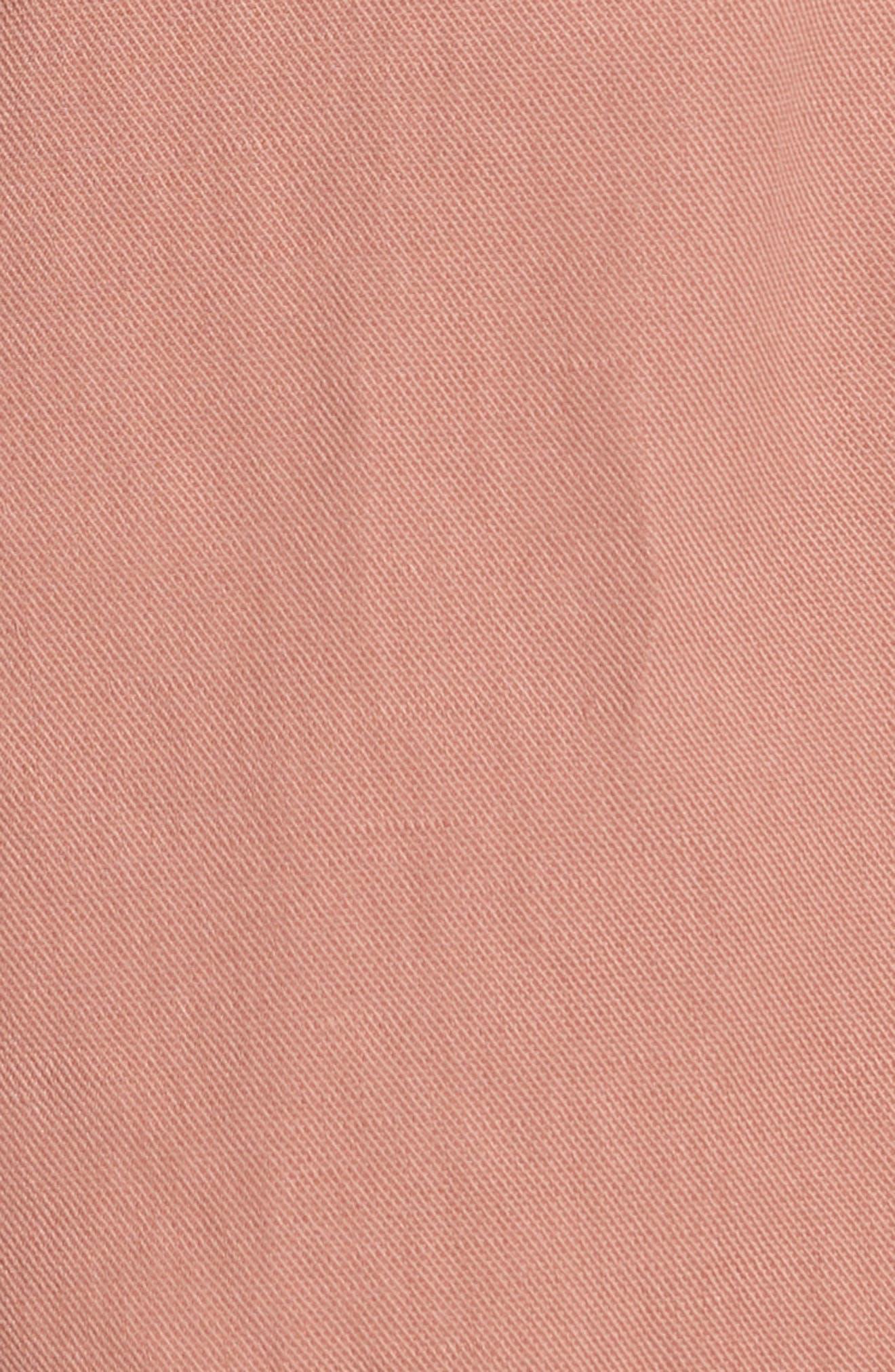 Martim Tie Waist Twill Shorts,                             Alternate thumbnail 5, color,                             200