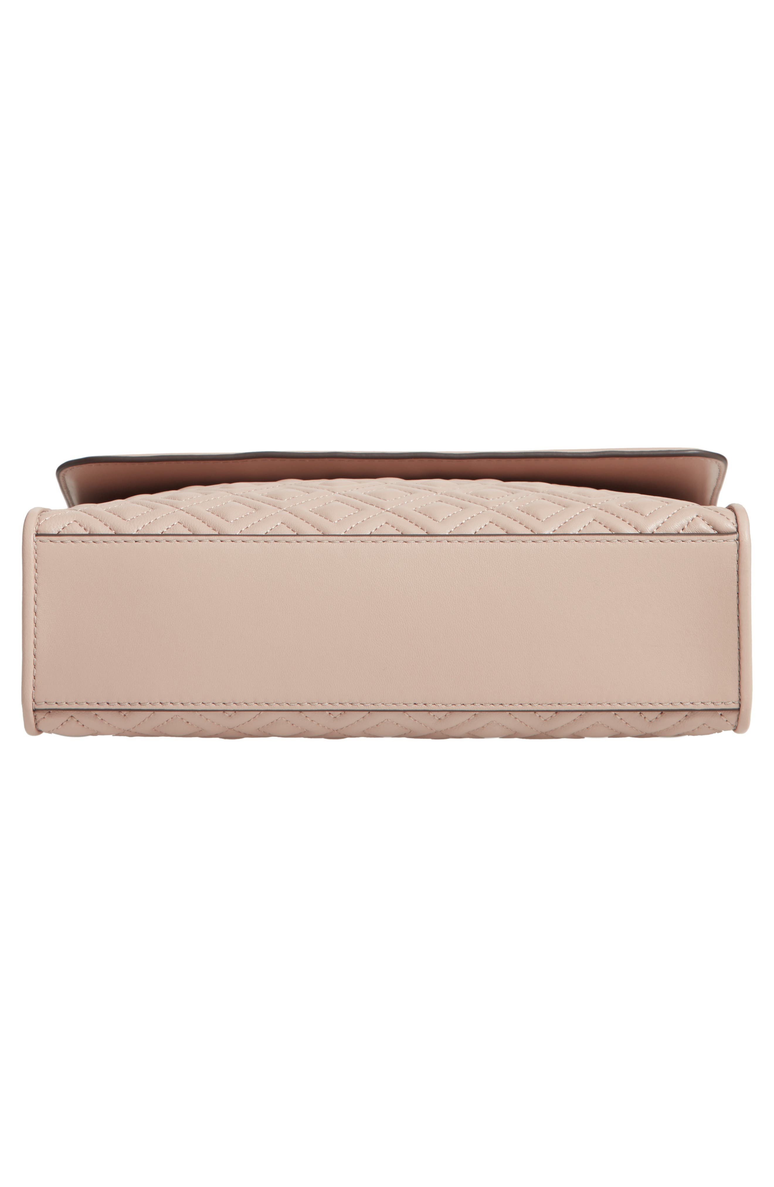 Fleming Leather Convertible Shoulder Bag,                             Alternate thumbnail 6, color,                             NO_COLOR