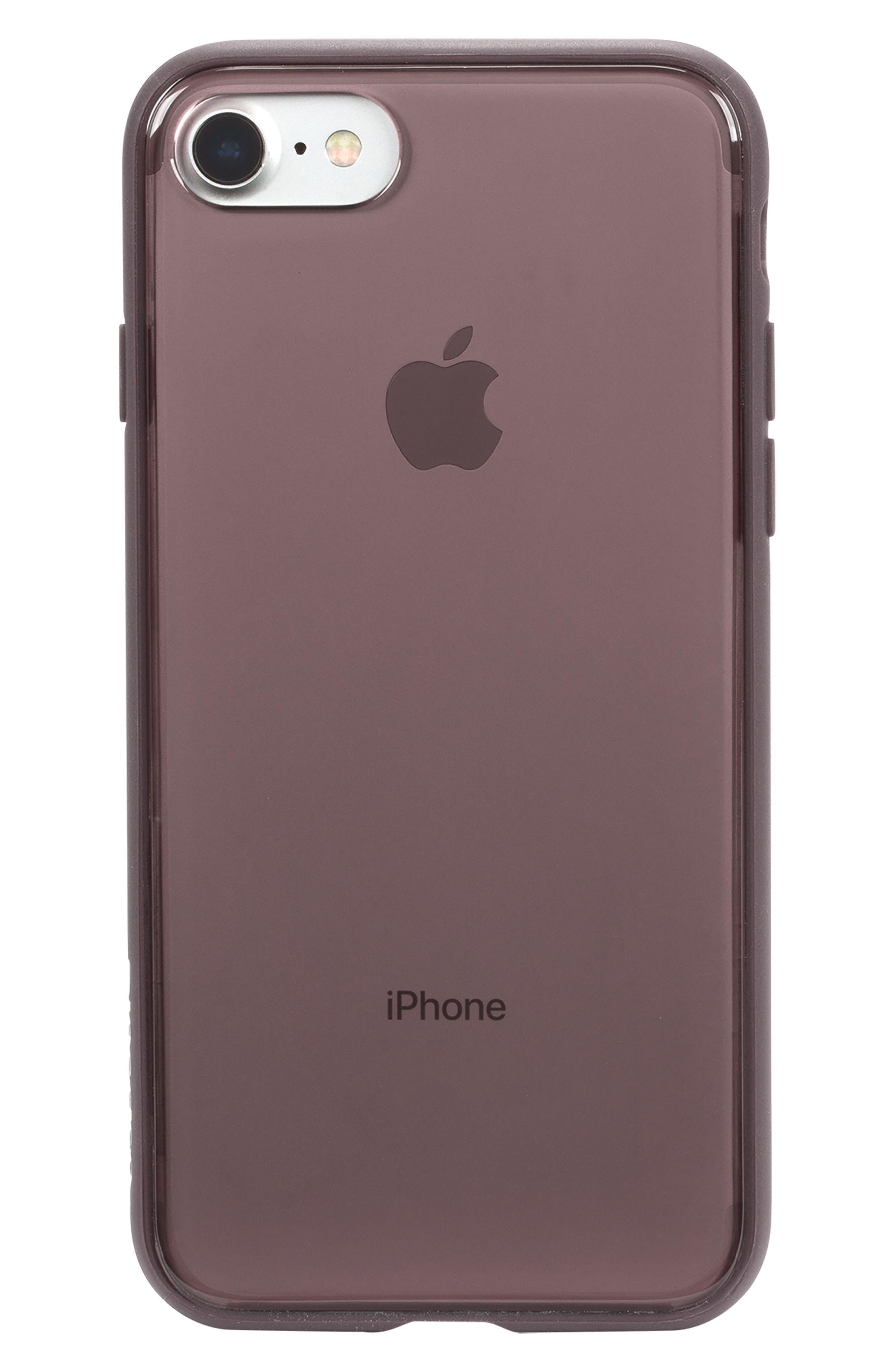 Pop iPhone 7/8 Case,                             Main thumbnail 1, color,                             DEEP TAUPE