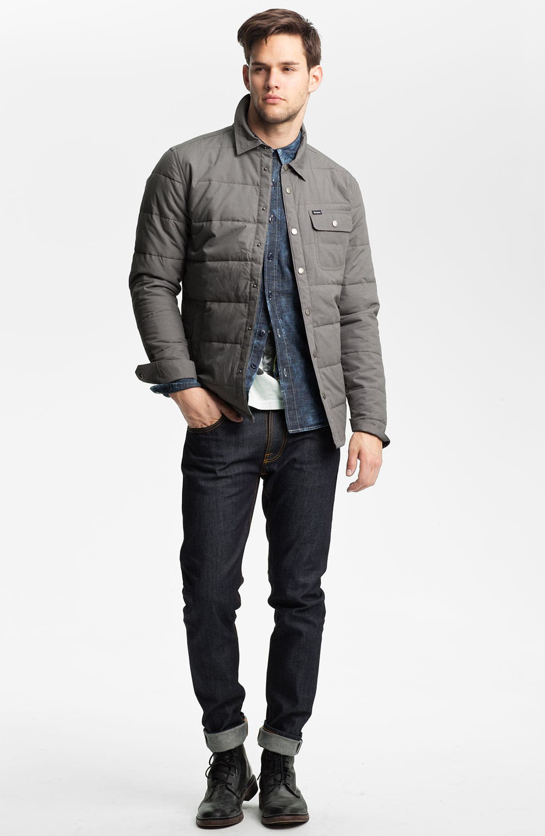 'Cass' Quilted Jacket,                             Alternate thumbnail 24, color,