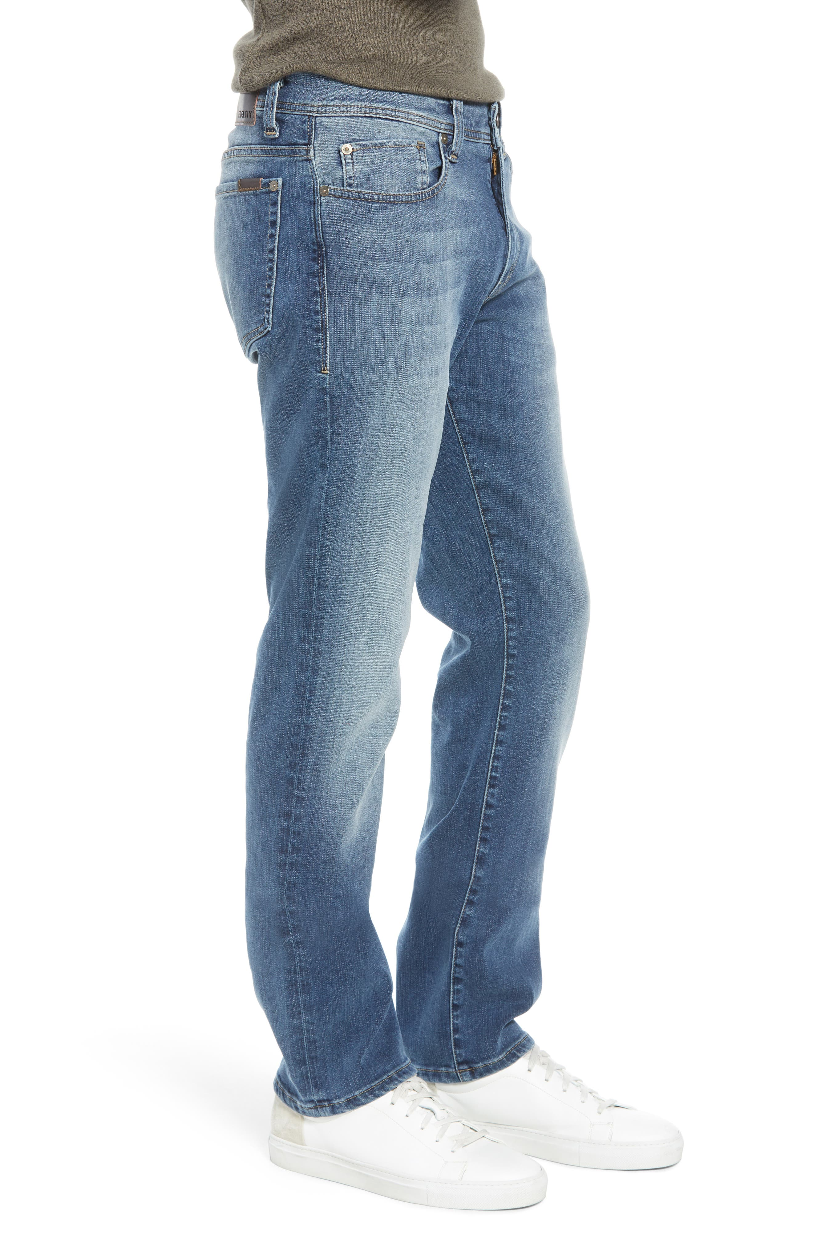 Jimmy Slim Straight Leg Jeans,                             Alternate thumbnail 3, color,                             FOSTER