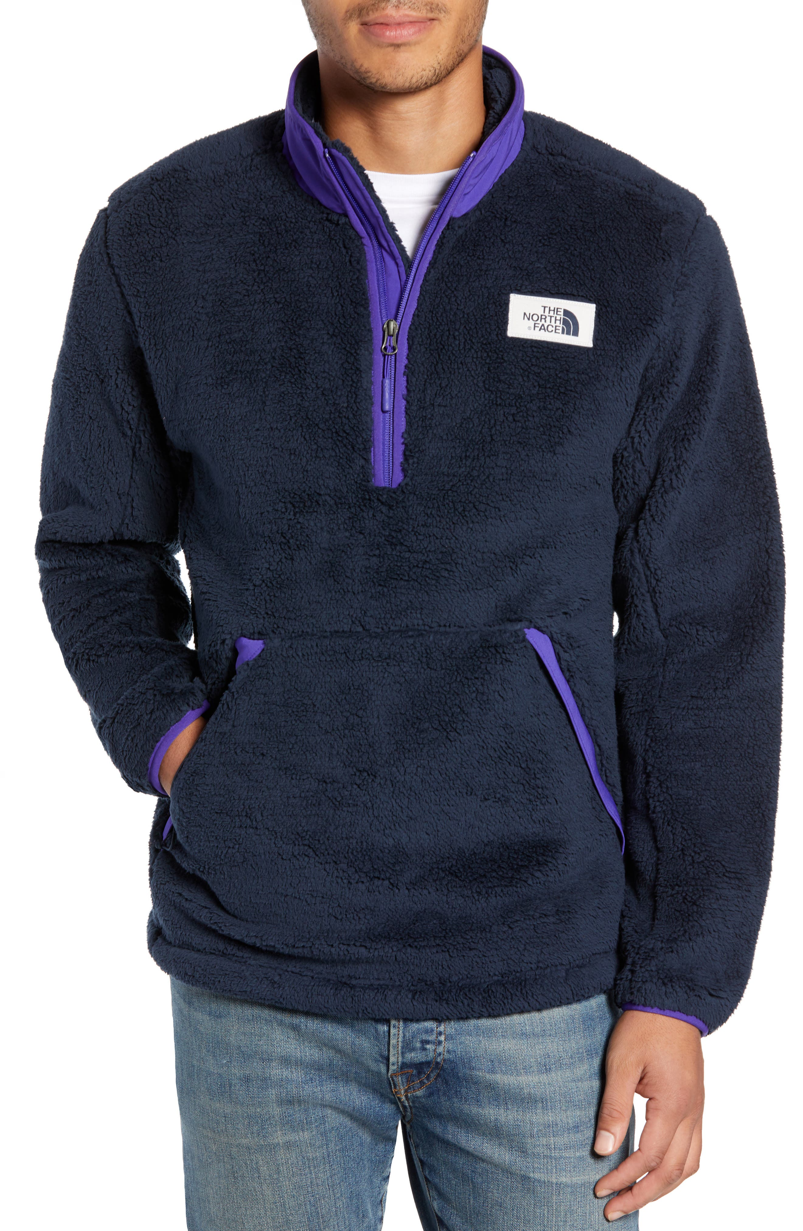 The North Face Campshire Pullover Fleece Jacket, Blue