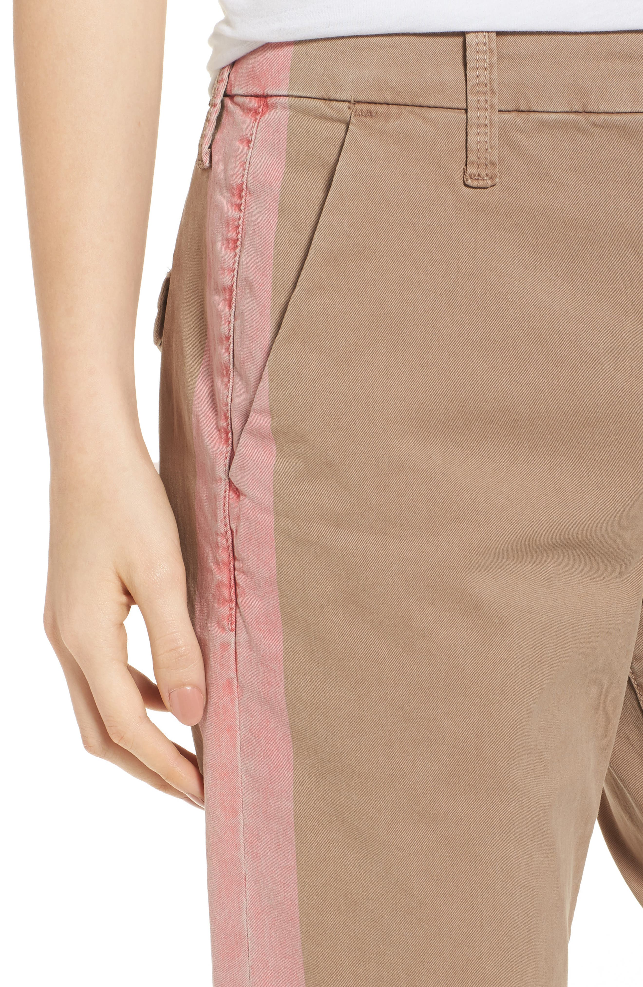 The Shaker Prep High Waist Crop Chinos,                             Alternate thumbnail 4, color,                             253