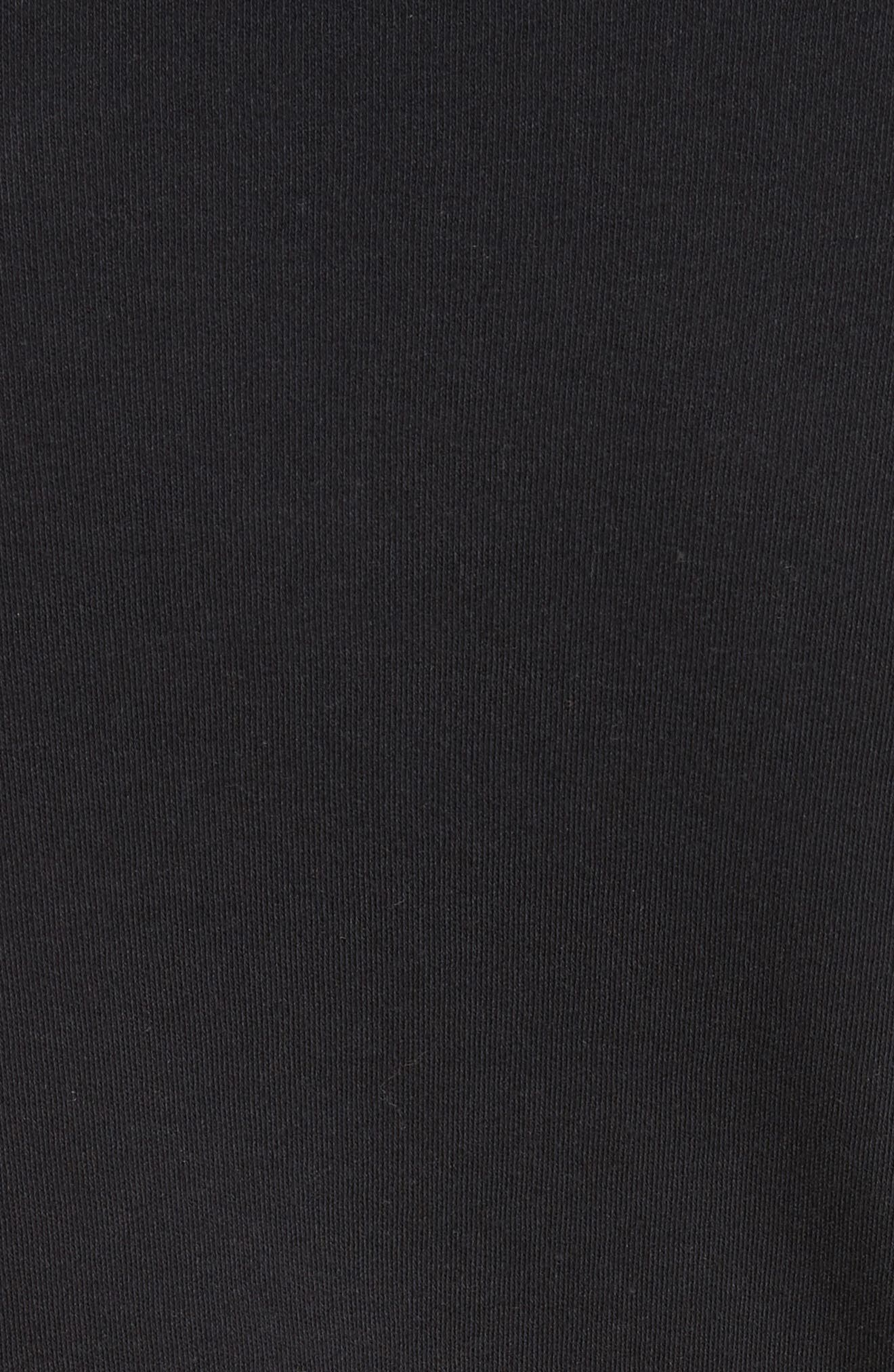 PSWL Back Button Henley,                             Alternate thumbnail 5, color,                             BLACK