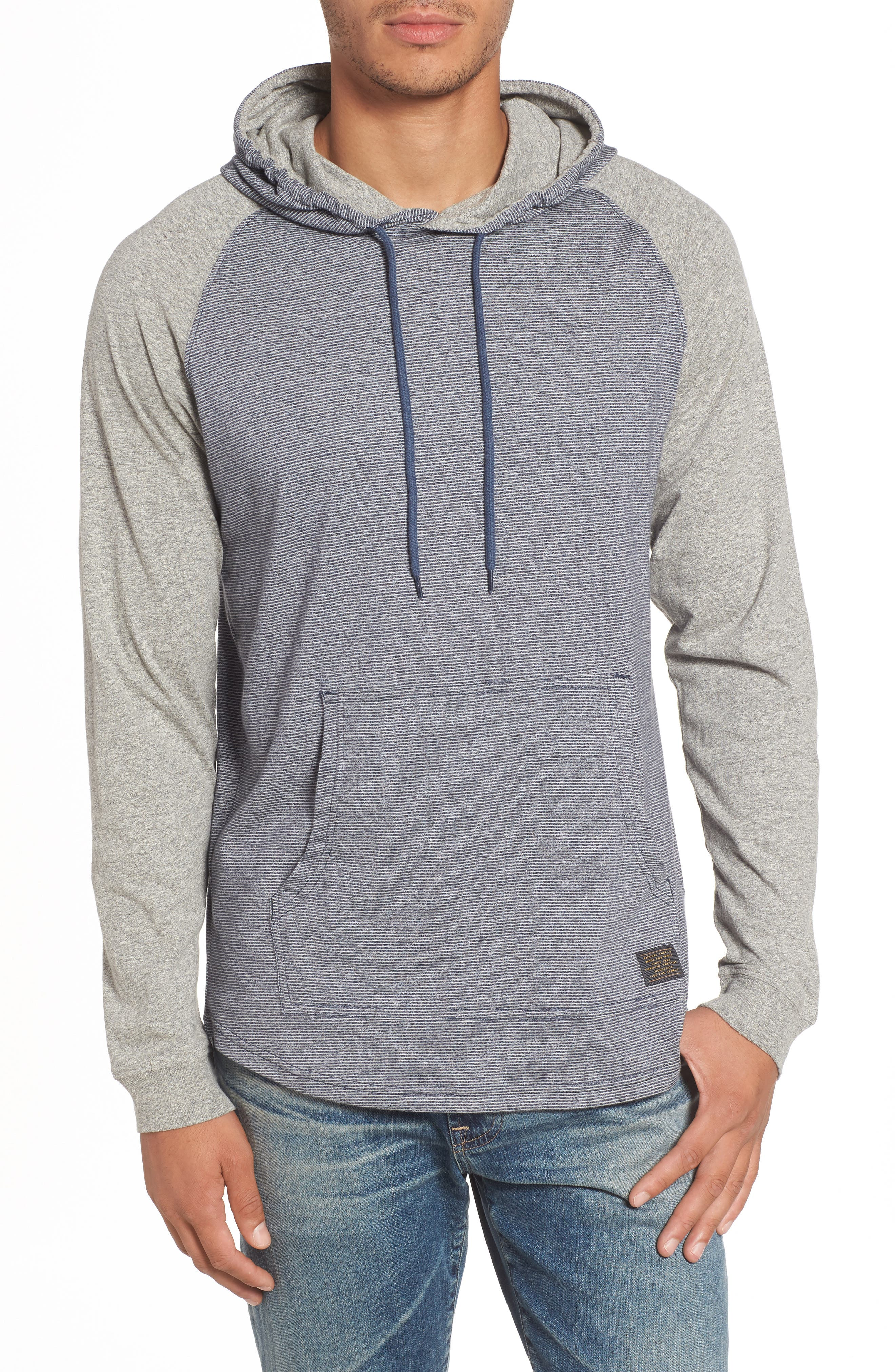 All In Hoodie,                             Main thumbnail 1, color,                             NAVY