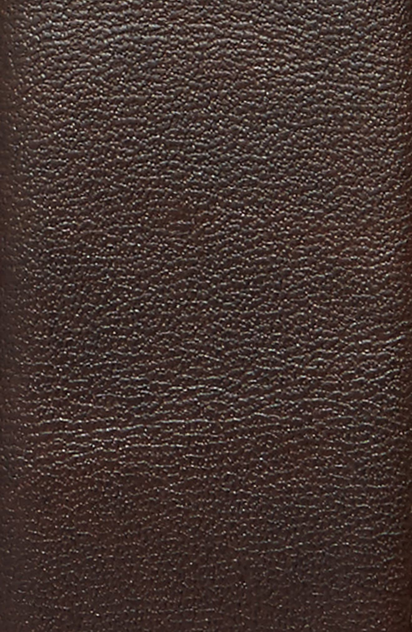Preston Reversible Leather Belt,                             Alternate thumbnail 3, color,                             001