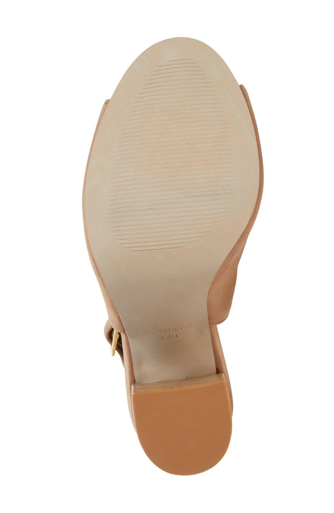 'Claara' Block Heel Sandal,                             Alternate thumbnail 14, color,