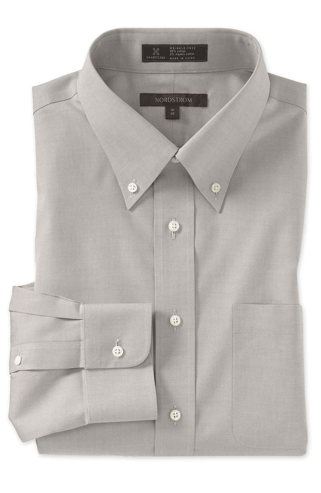 Smartcare<sup>™</sup> Traditional Fit Pinpoint Dress Shirt,                             Main thumbnail 16, color,