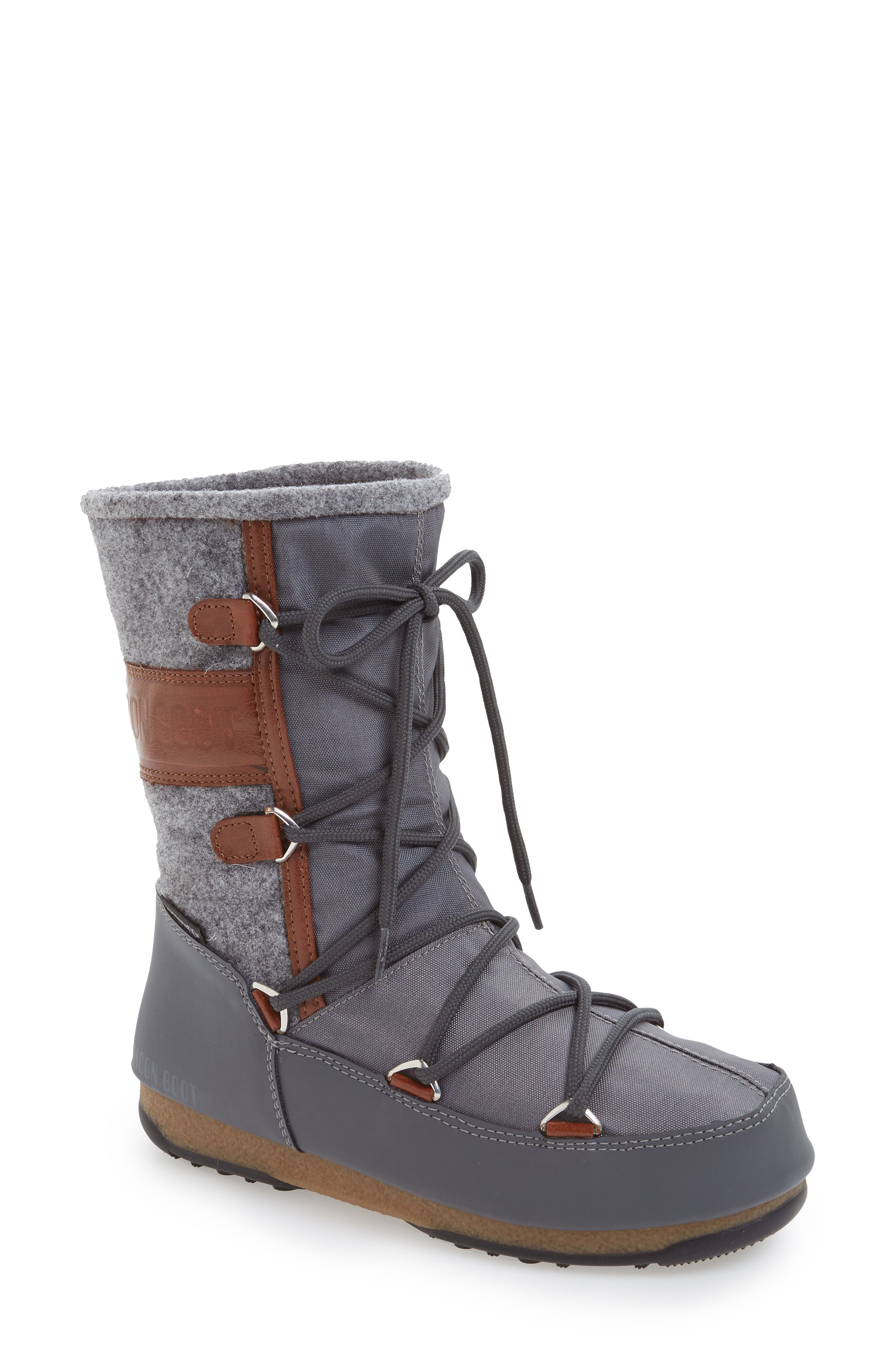 Vienna Waterproof Moon Boot<sup>®</sup>,                         Main,                         color,