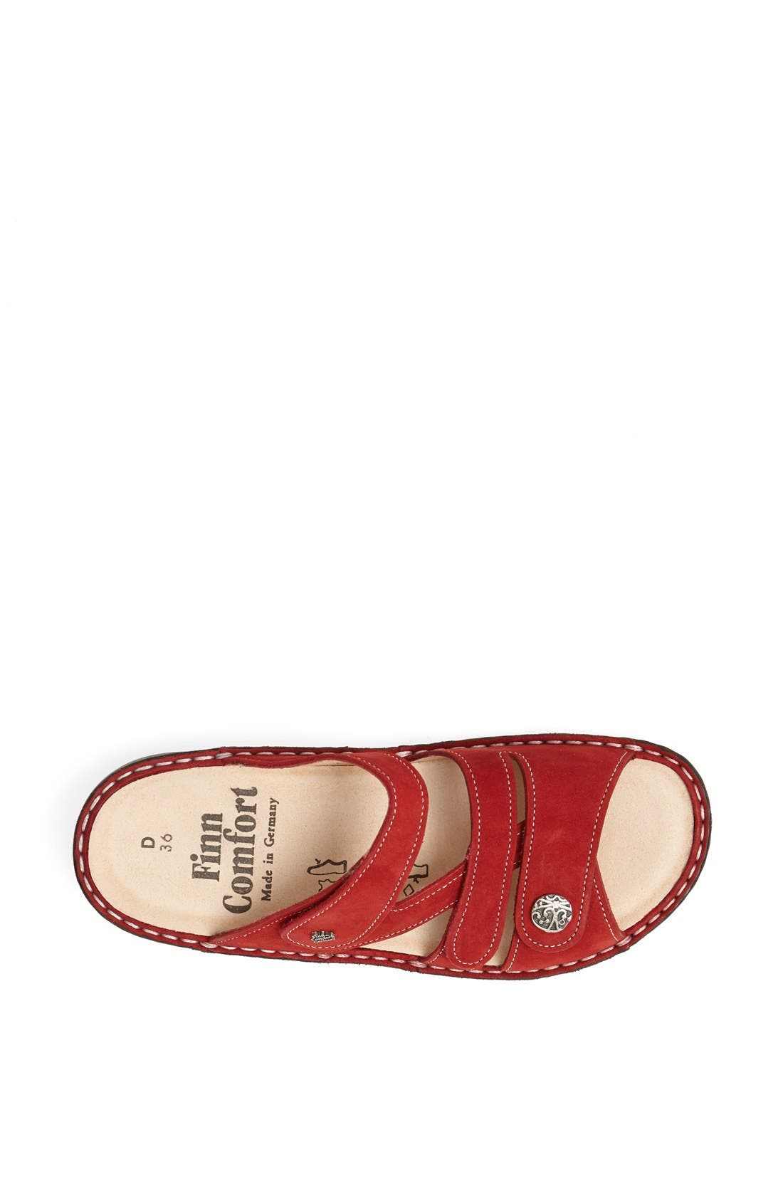 'Ventura' Sandal,                             Alternate thumbnail 3, color,                             RED
