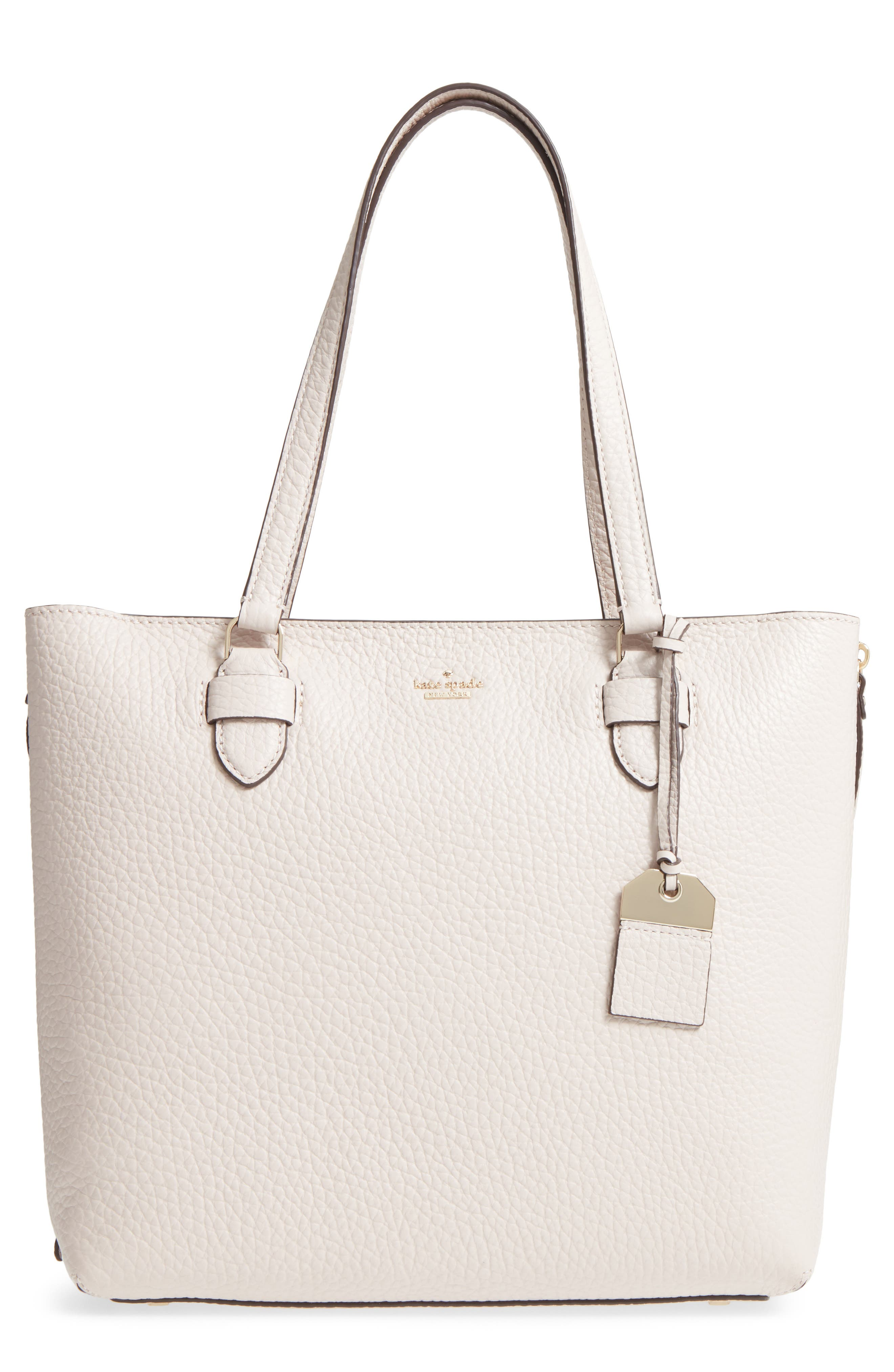 carter street - selena leather tote,                             Main thumbnail 2, color,