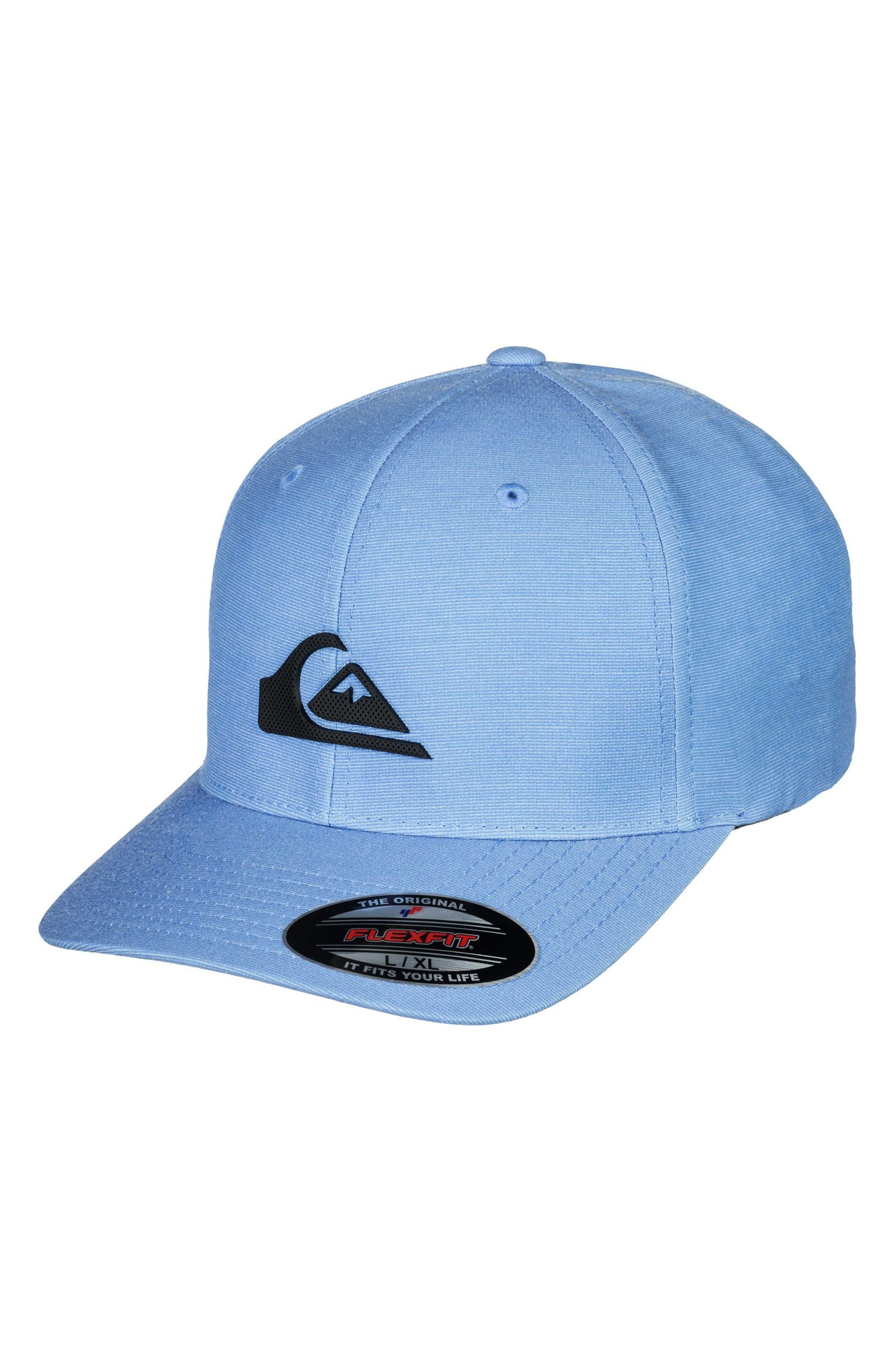 Texturizer Flexfit Ball Cap,                         Main,                         color, SILVER LAKE BLUE