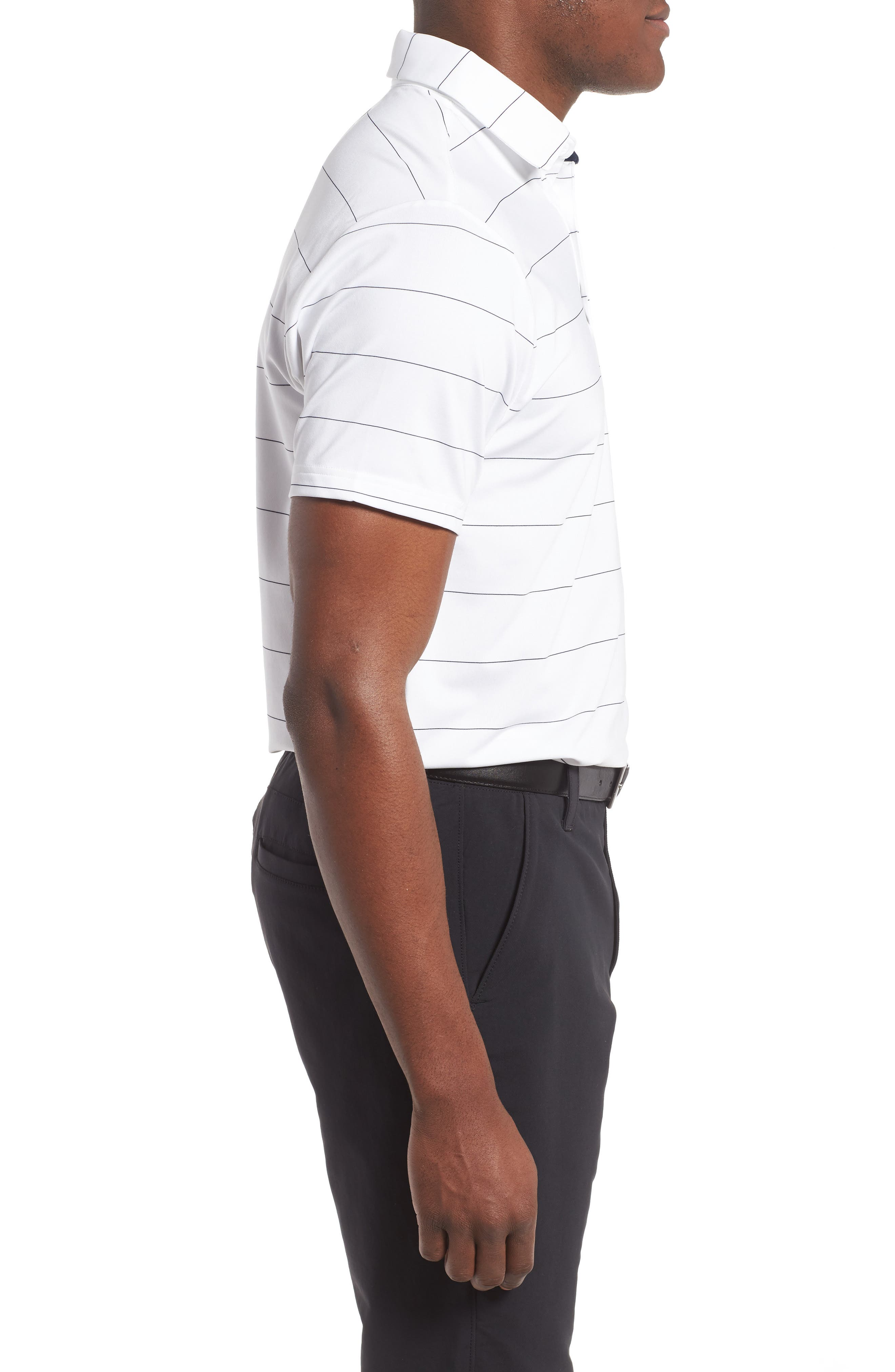 'Playoff' Loose Fit Short Sleeve Polo,                             Alternate thumbnail 135, color,