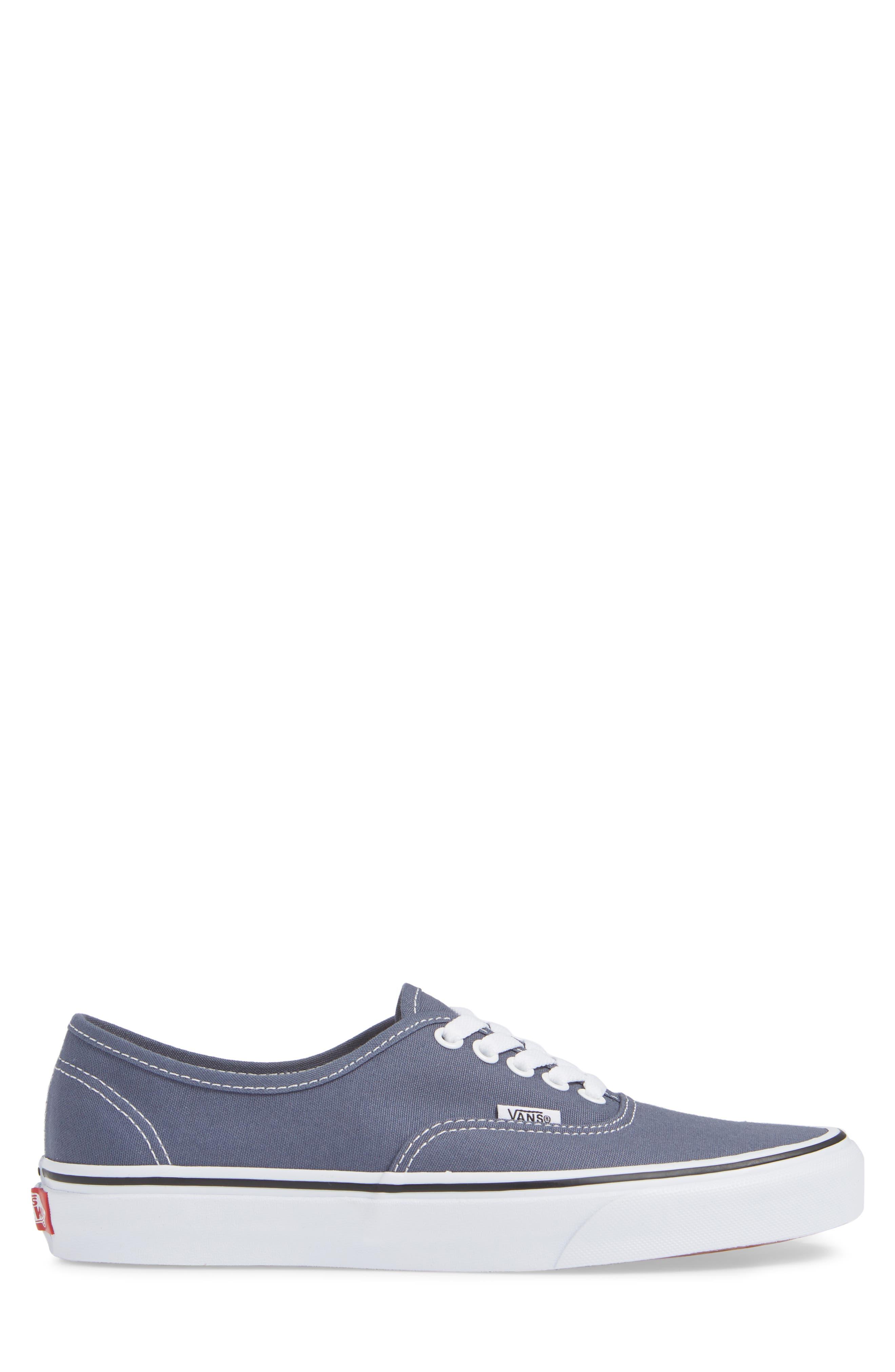 'Authentic' Sneaker,                             Alternate thumbnail 3, color,                             GREY/ TRUE WHITE