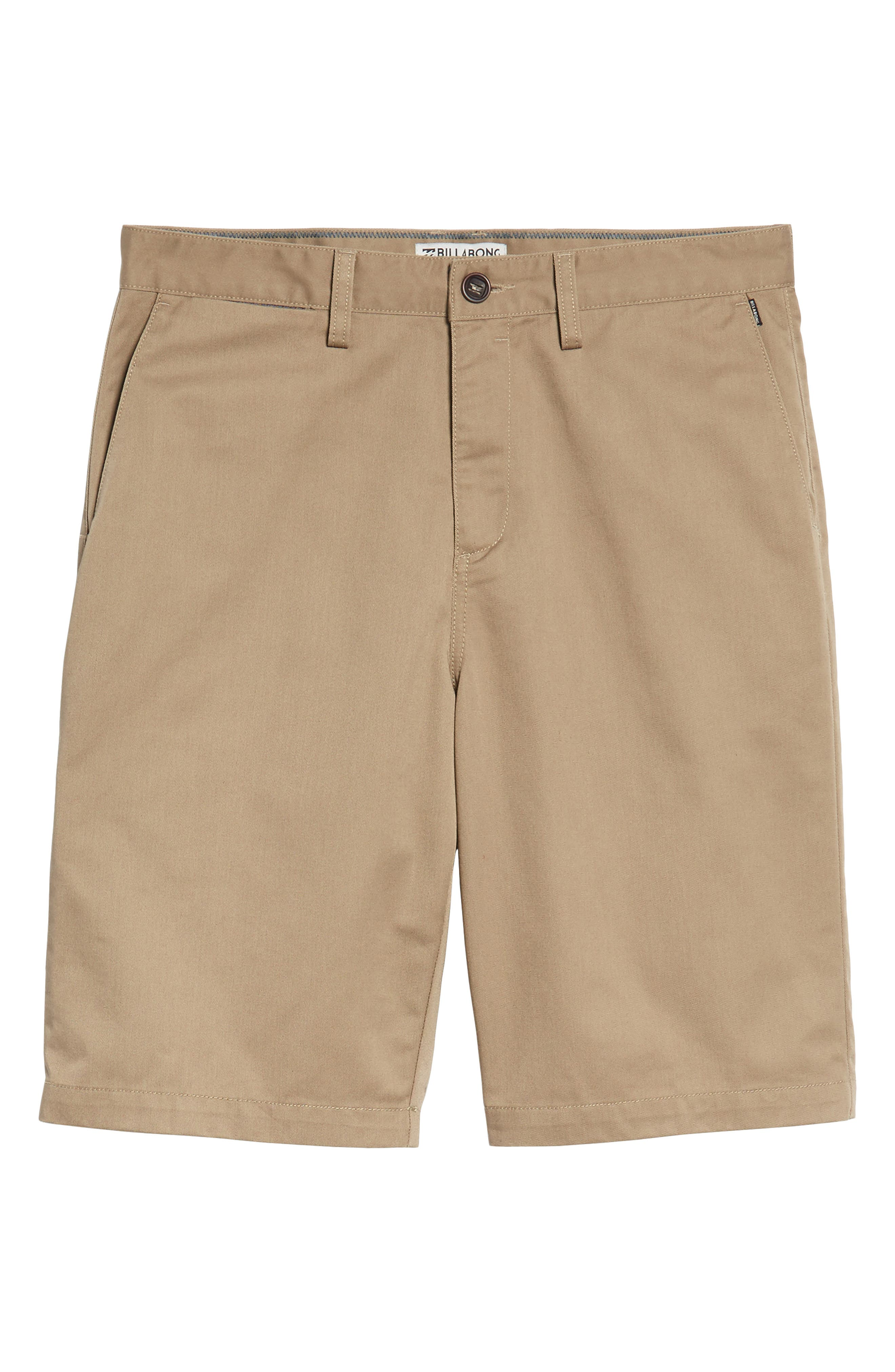Carter Stretch Twill Shorts,                             Alternate thumbnail 22, color,