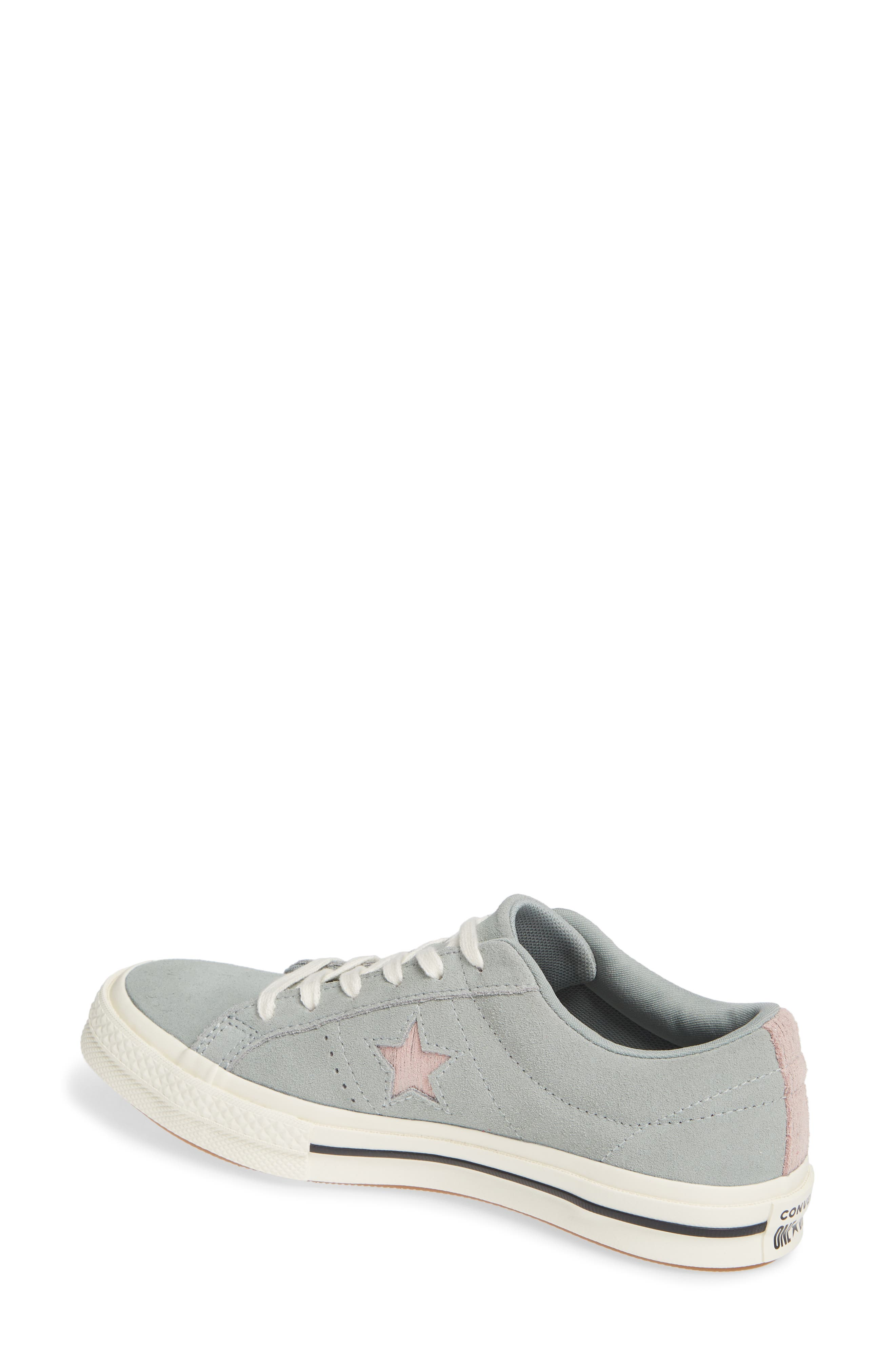 One Star Suede Low Top Sneaker,                             Alternate thumbnail 7, color,