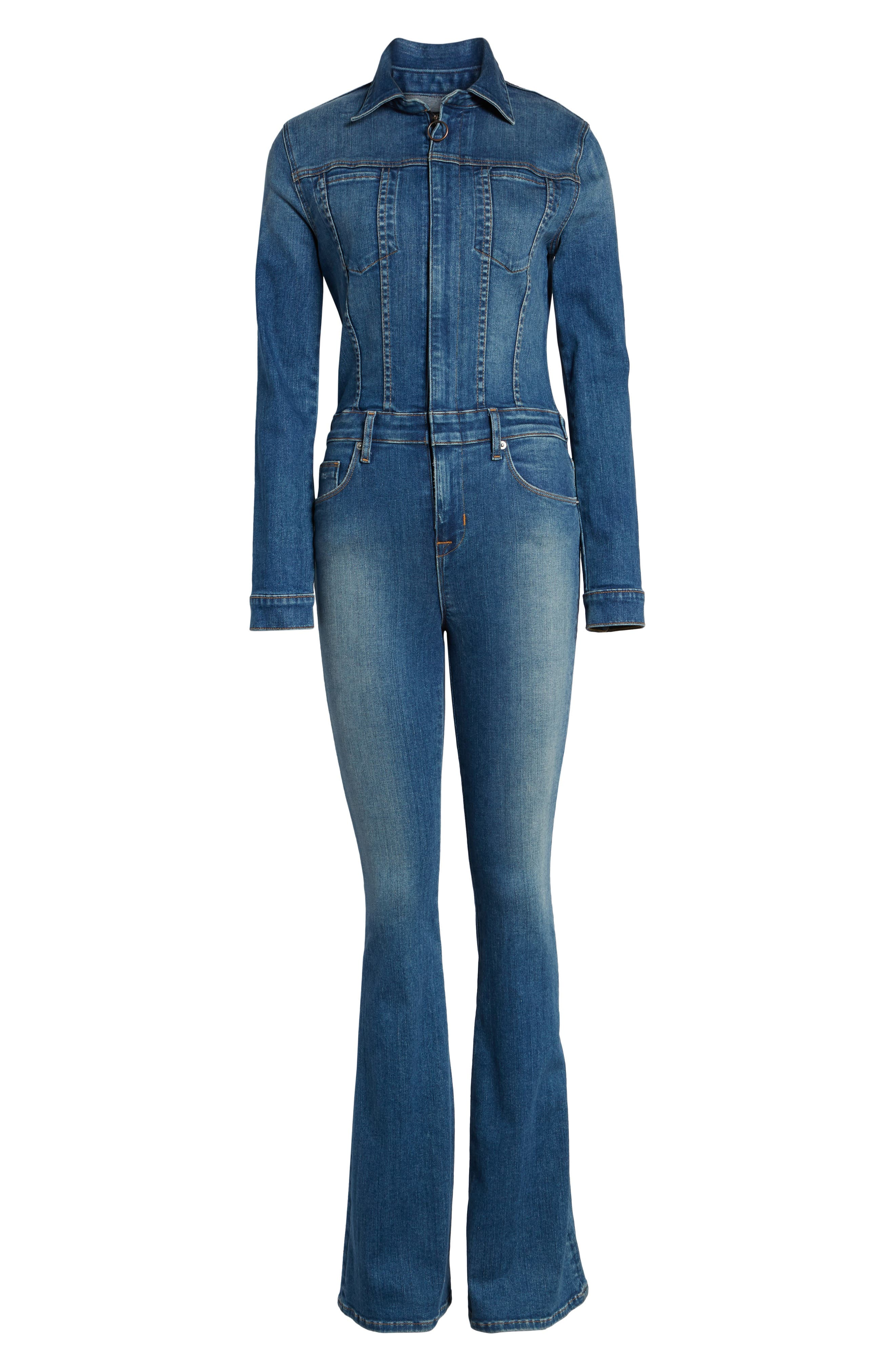 Holly Long Sleeve Coveralls,                             Alternate thumbnail 6, color,