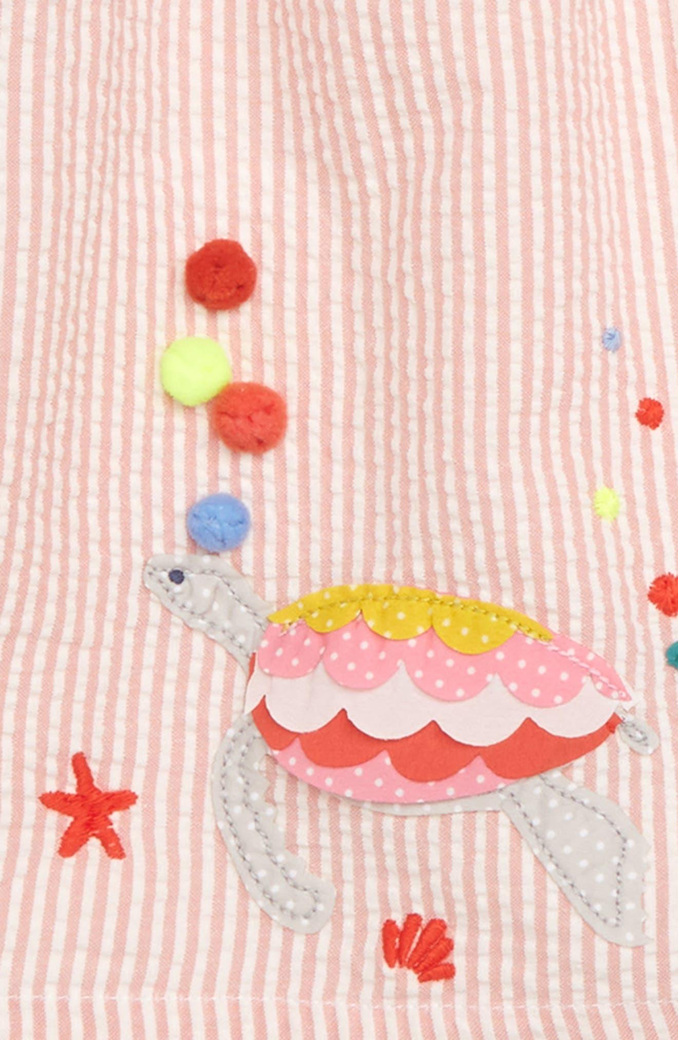 Strappy Smock Dress,                             Alternate thumbnail 3, color,                             684