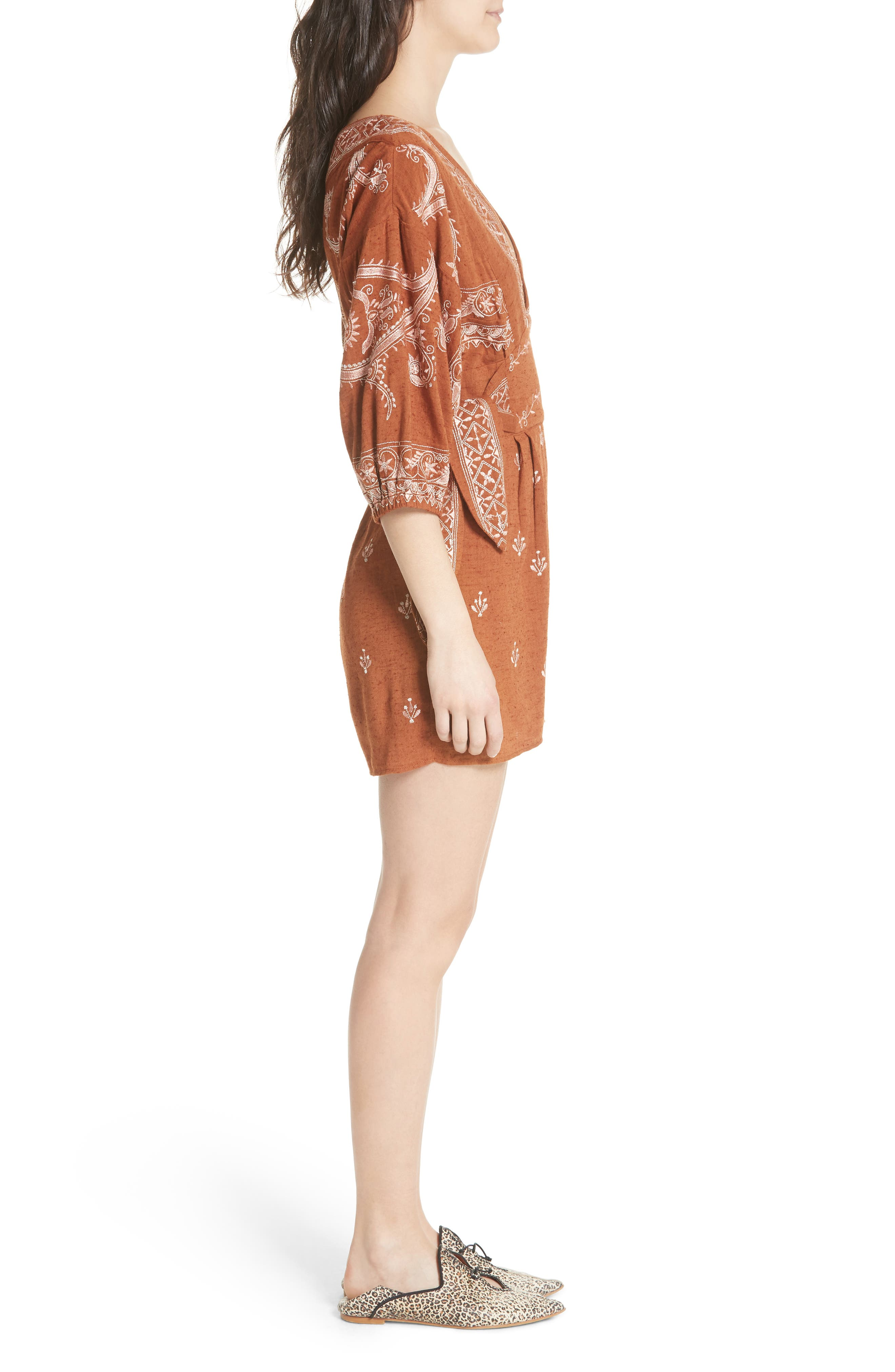 Azalia Romper,                             Alternate thumbnail 3, color,                             210