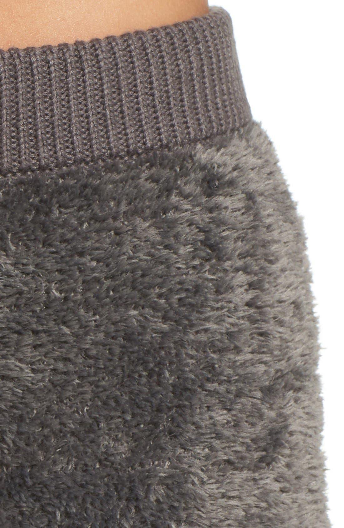 Fuzzy Lounge Shorts,                             Alternate thumbnail 6, color,