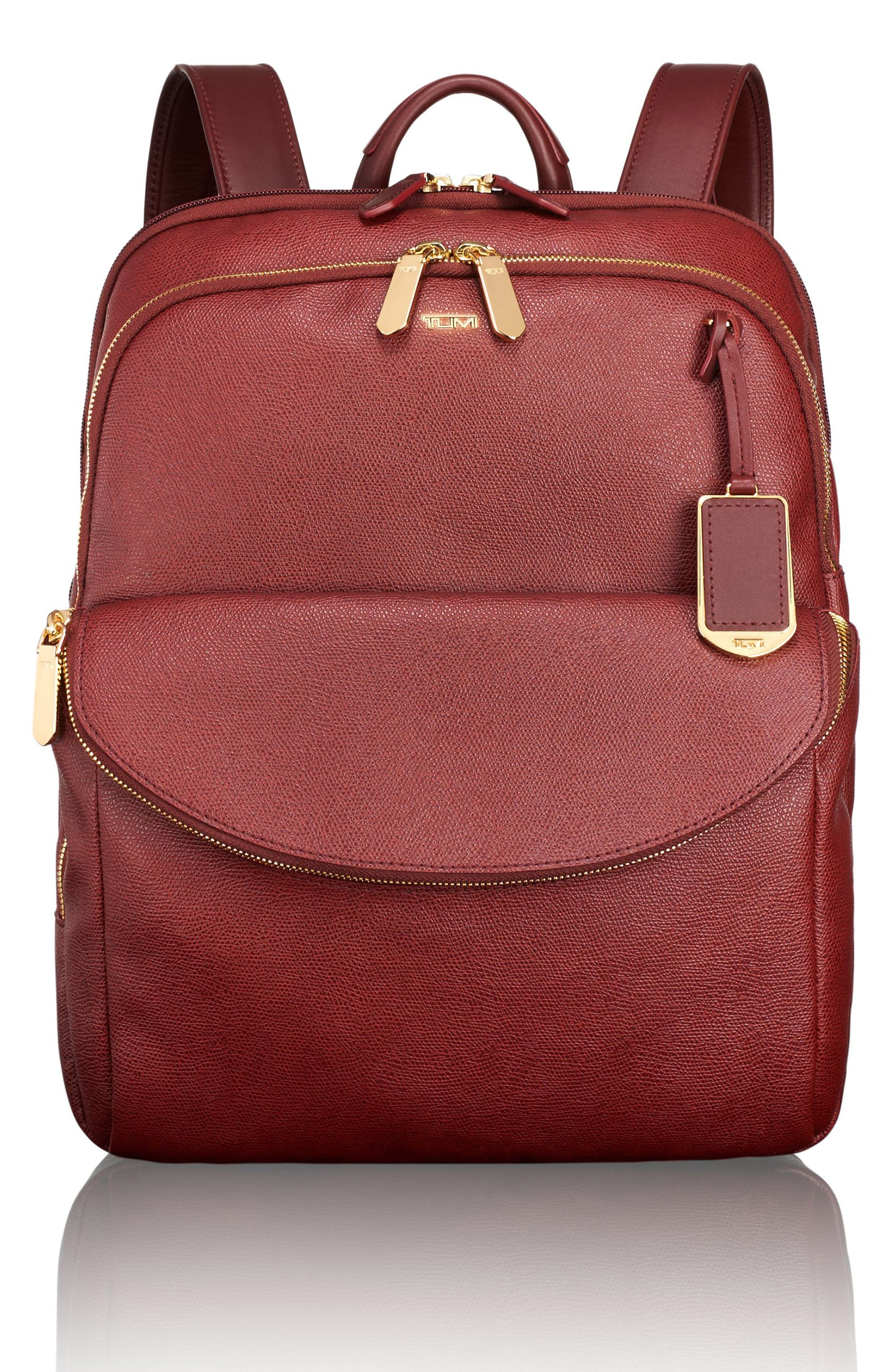 Sinclair - Hanne Coated Canvas Laptop Backpack,                             Main thumbnail 4, color,