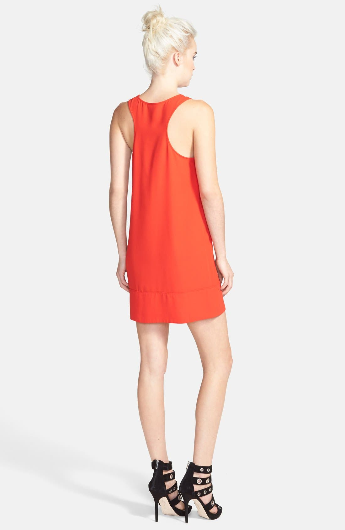 Racerback Shift Dress,                             Alternate thumbnail 75, color,