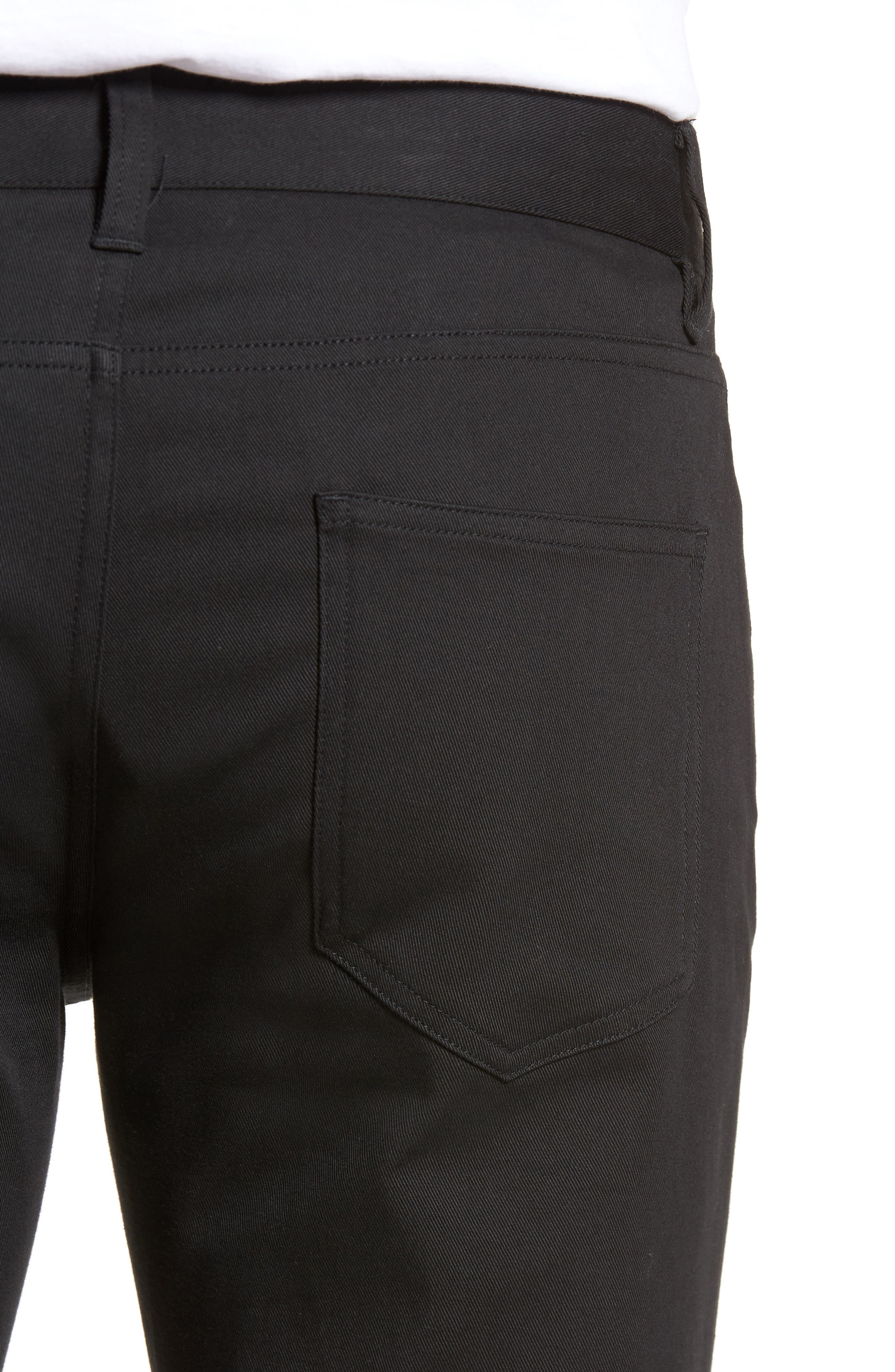 Skinny Slim Fit Pants,                             Alternate thumbnail 4, color,                             001