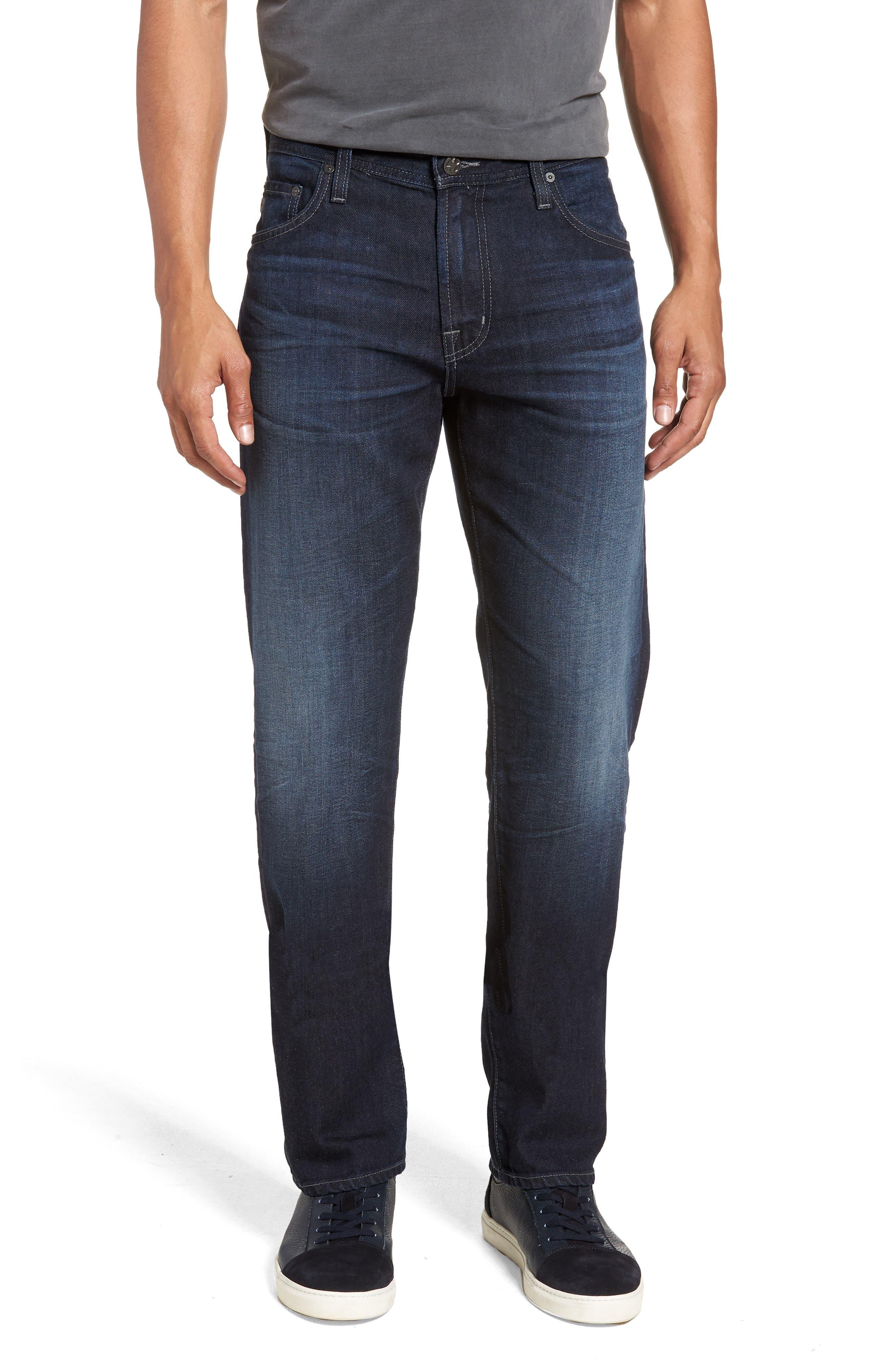 Graduate Slim Straight Leg Jeans,                         Main,                         color, 486