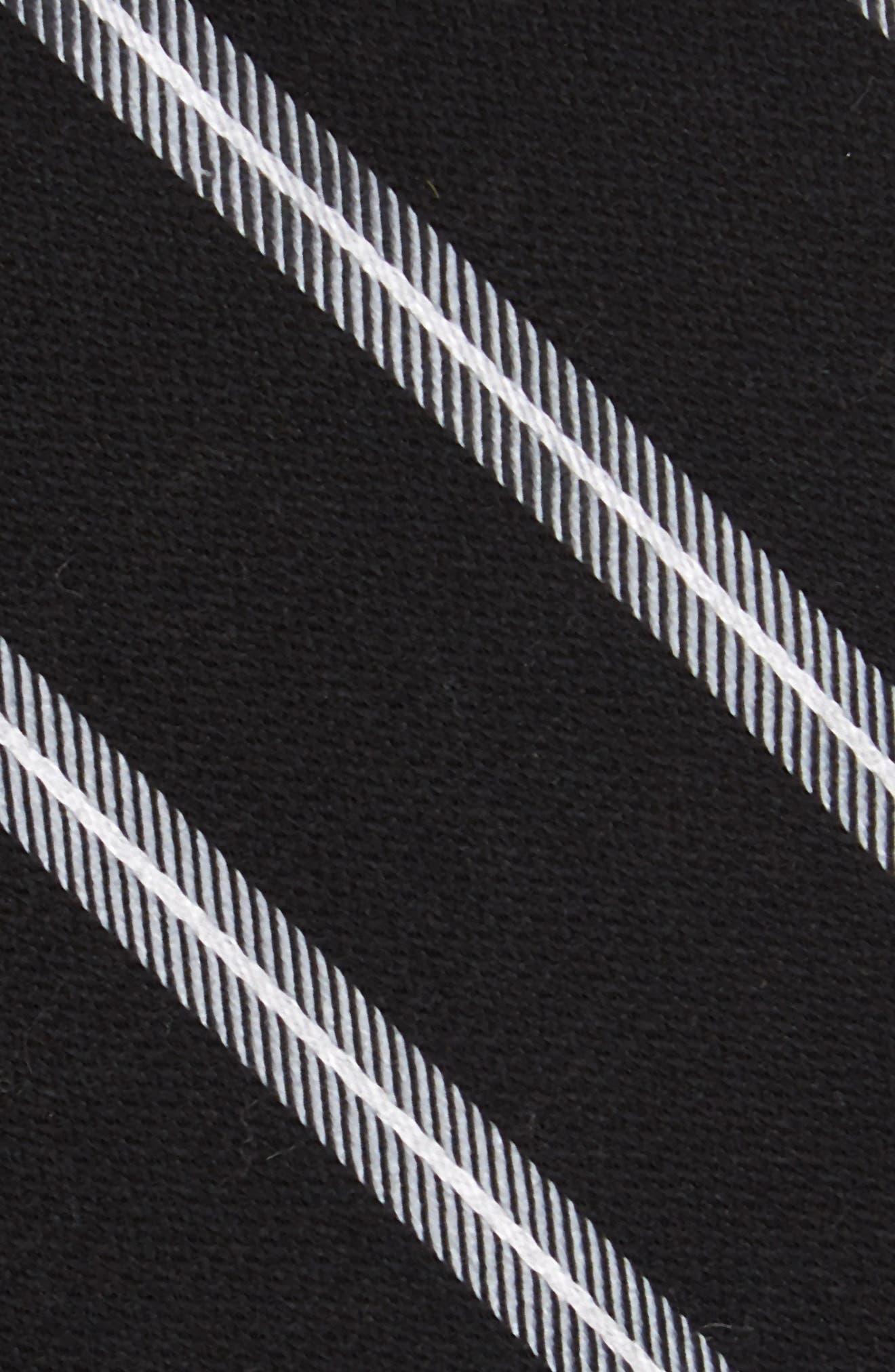 Edinger Stripe Silk & Cotton Tie,                             Alternate thumbnail 2, color,                             001