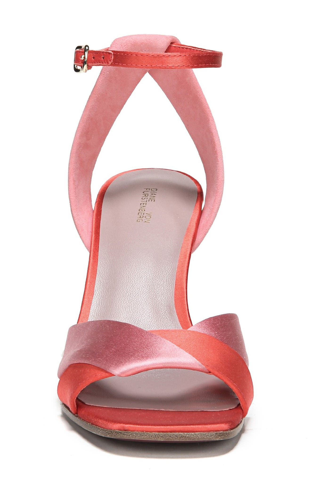 Fiona Strappy Sandal,                             Alternate thumbnail 4, color,