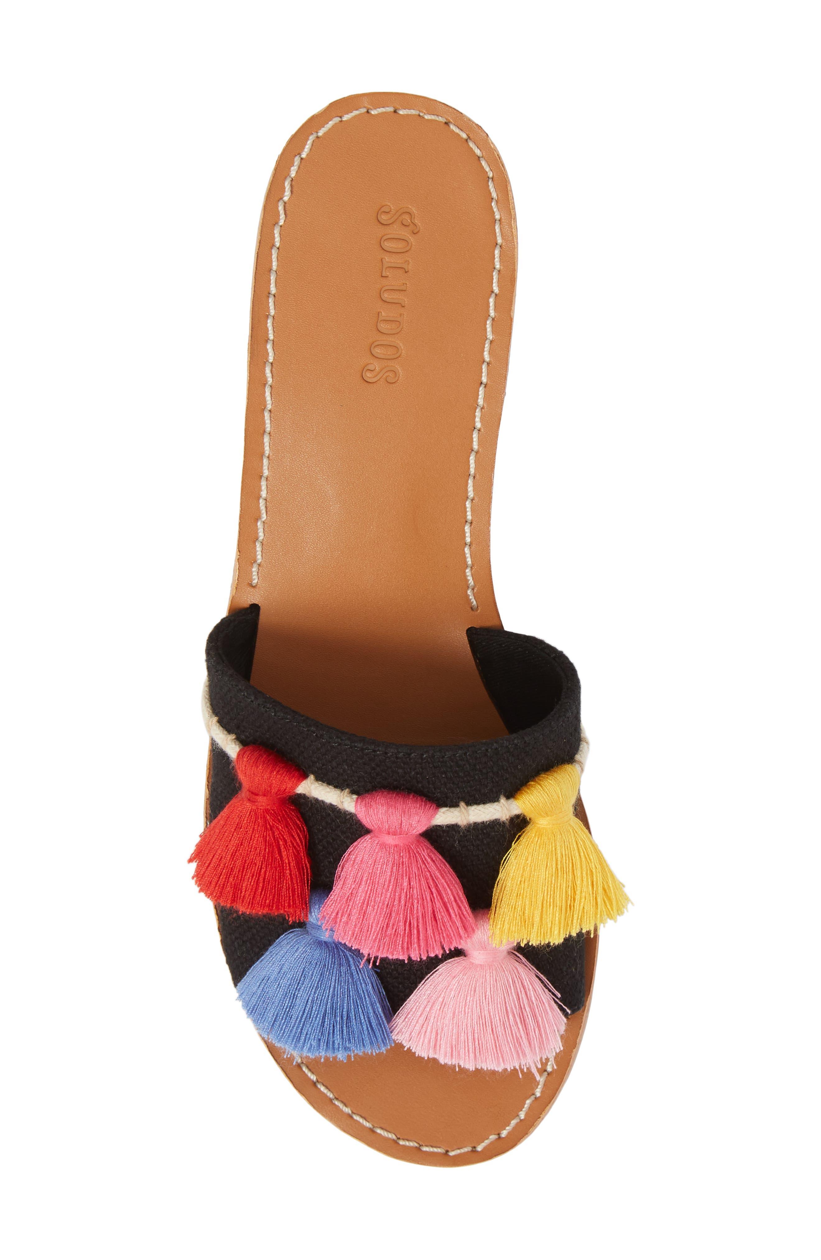 Tassel City Sandal,                             Alternate thumbnail 5, color,                             001