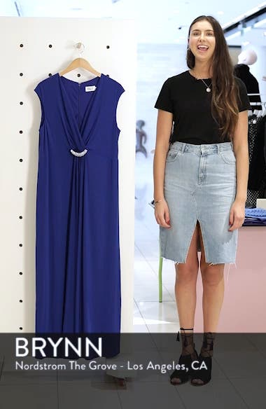 Embellished Surplice Dress, sales video thumbnail