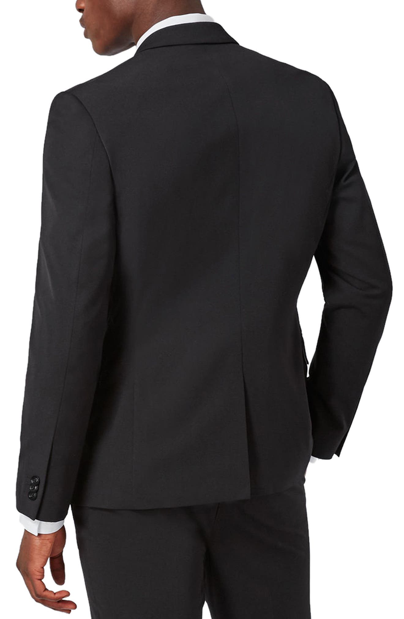 Muscle Fit Suit Jacket,                             Alternate thumbnail 2, color,                             001
