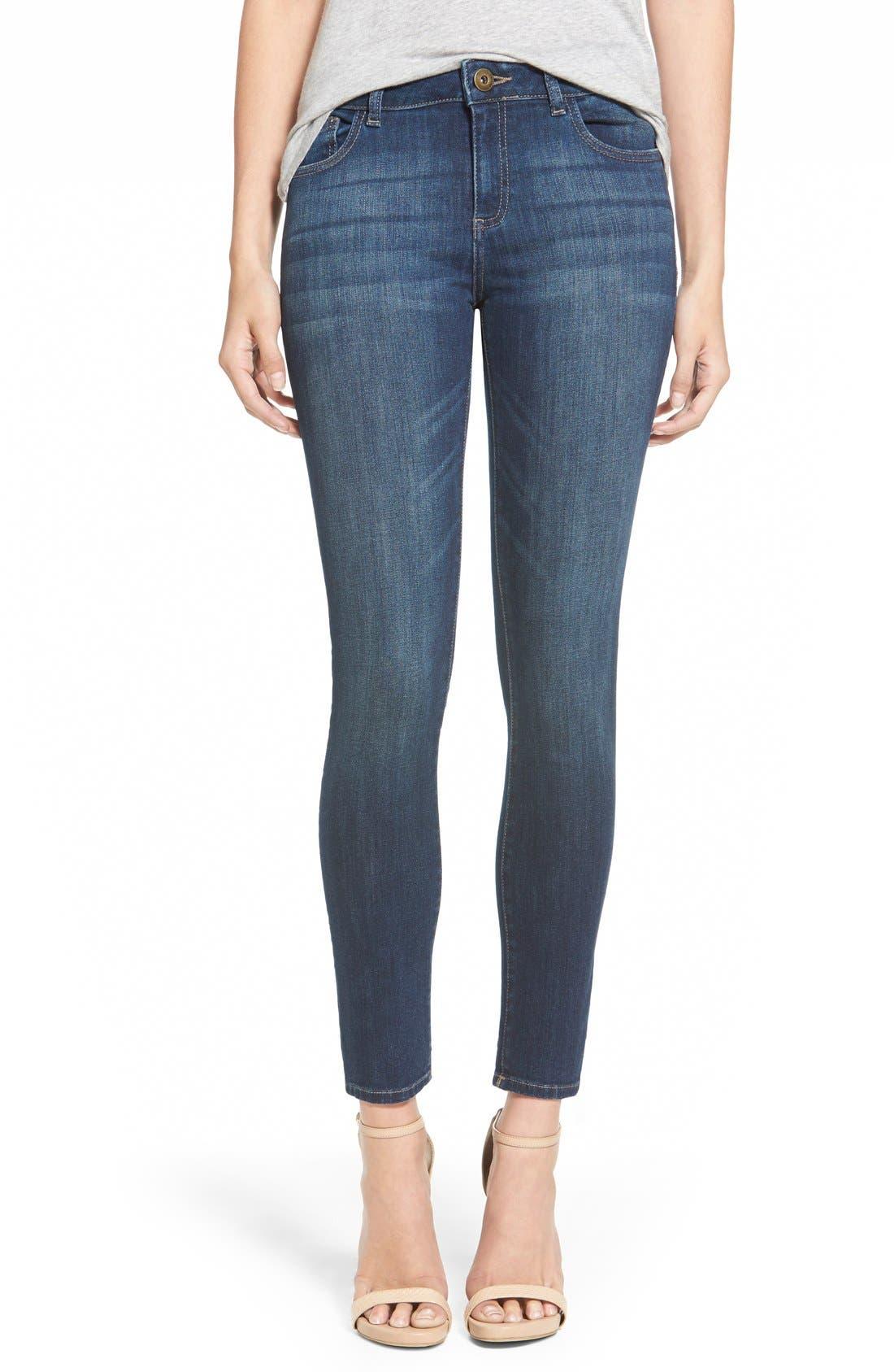 'Margaux' Instasculpt Ankle Skinny Jeans, Main, color, 405