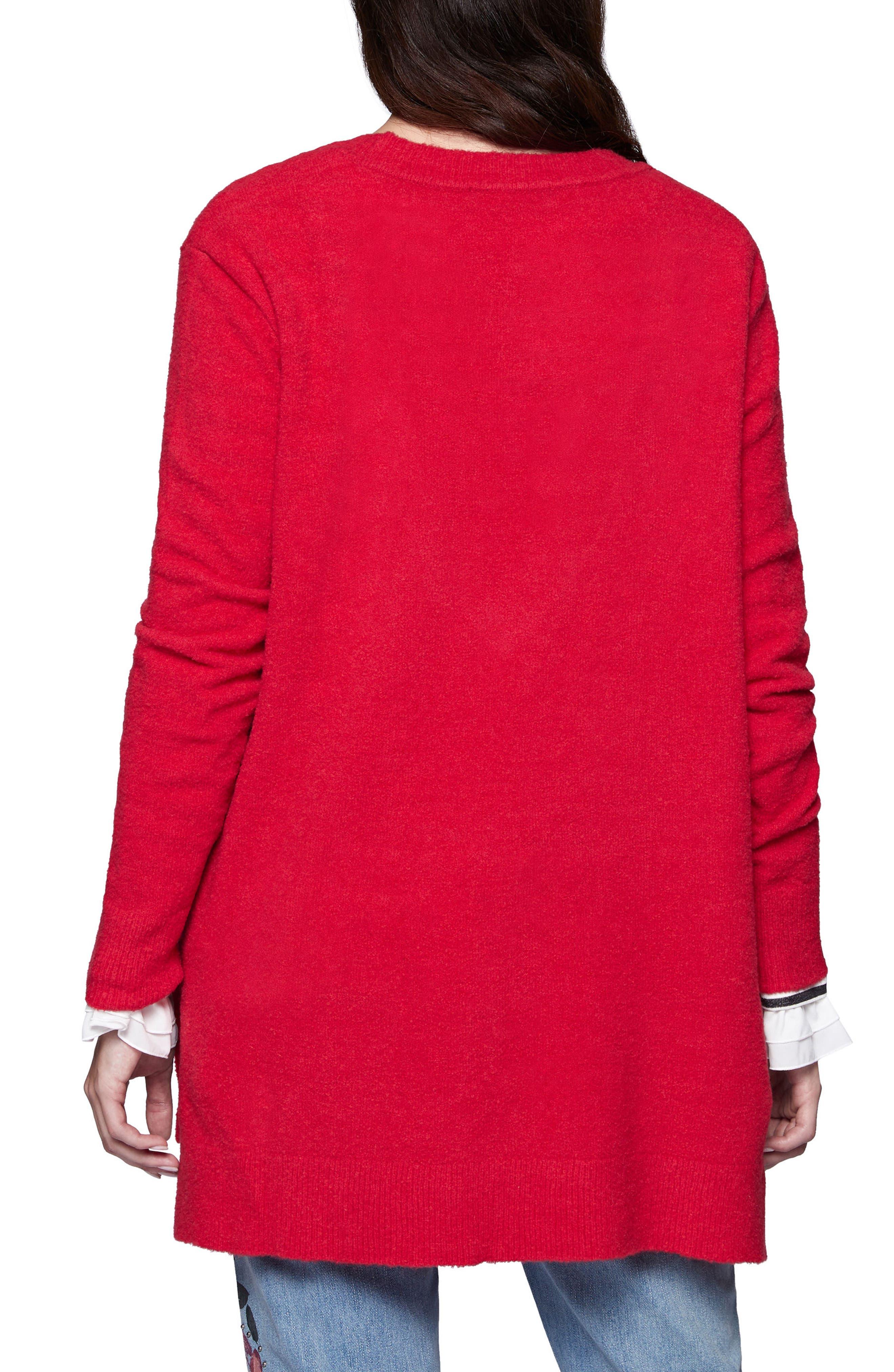 Santuary Delancey V-Neck Sweater,                             Alternate thumbnail 6, color,