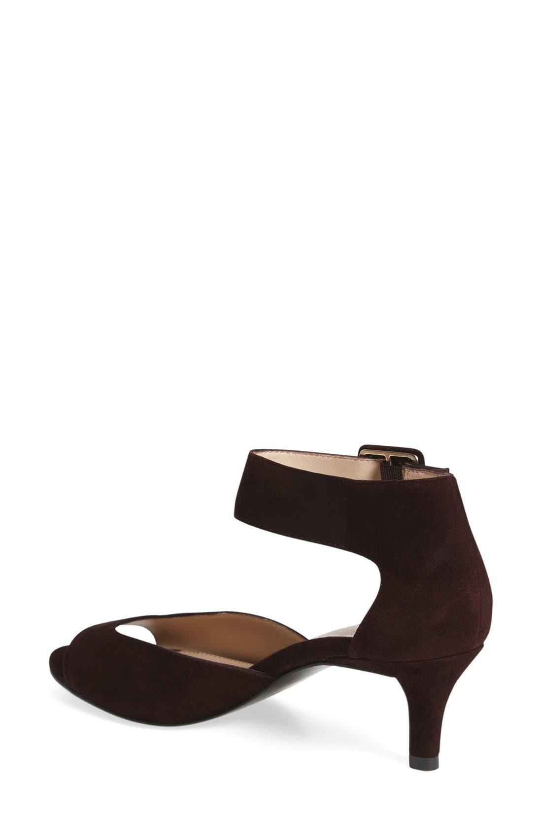 'Berlin' Ankle Strap Sandal,                             Alternate thumbnail 40, color,