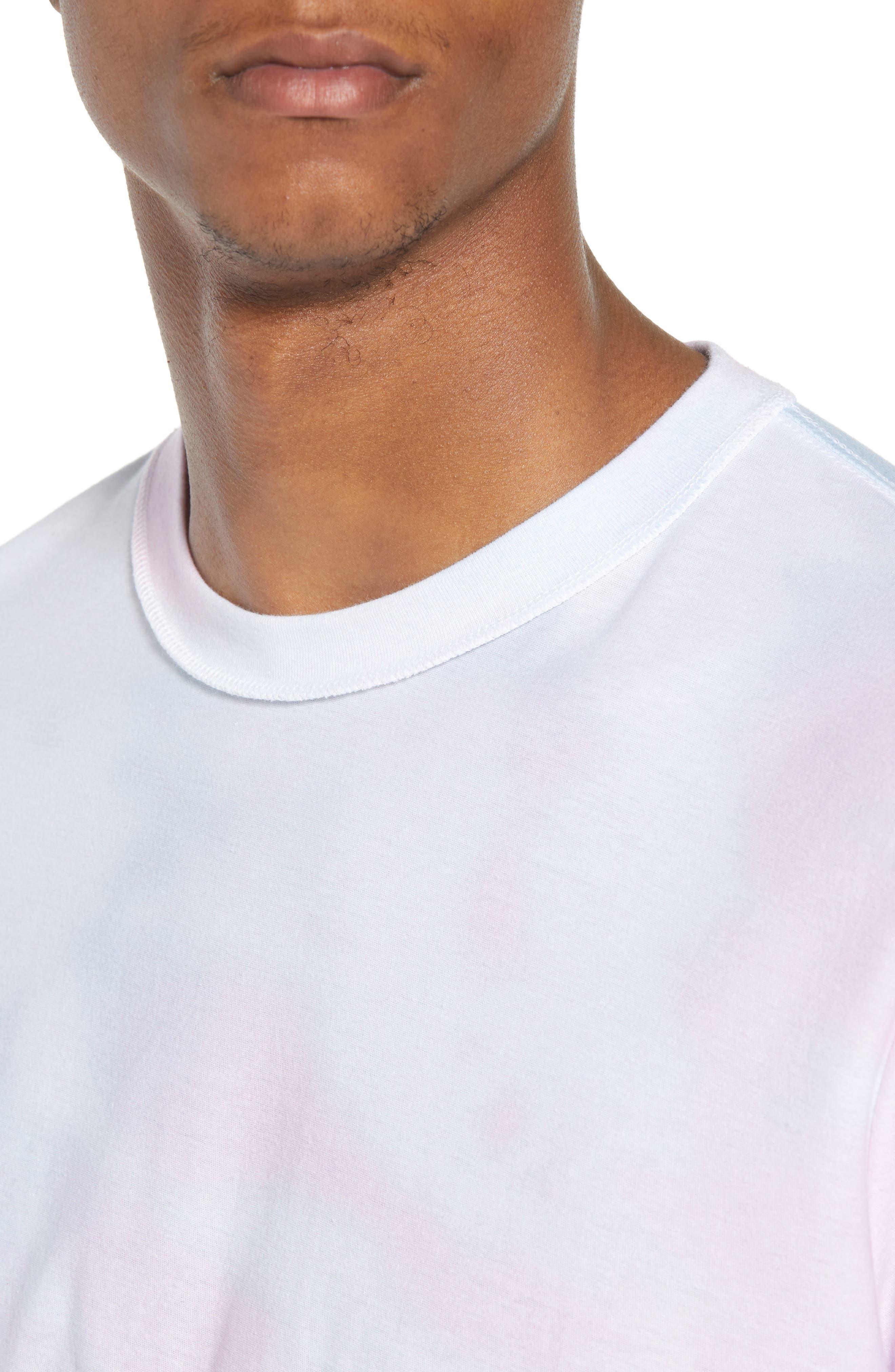 Reverse Tie Dye T-Shirt,                             Alternate thumbnail 4, color,                             100