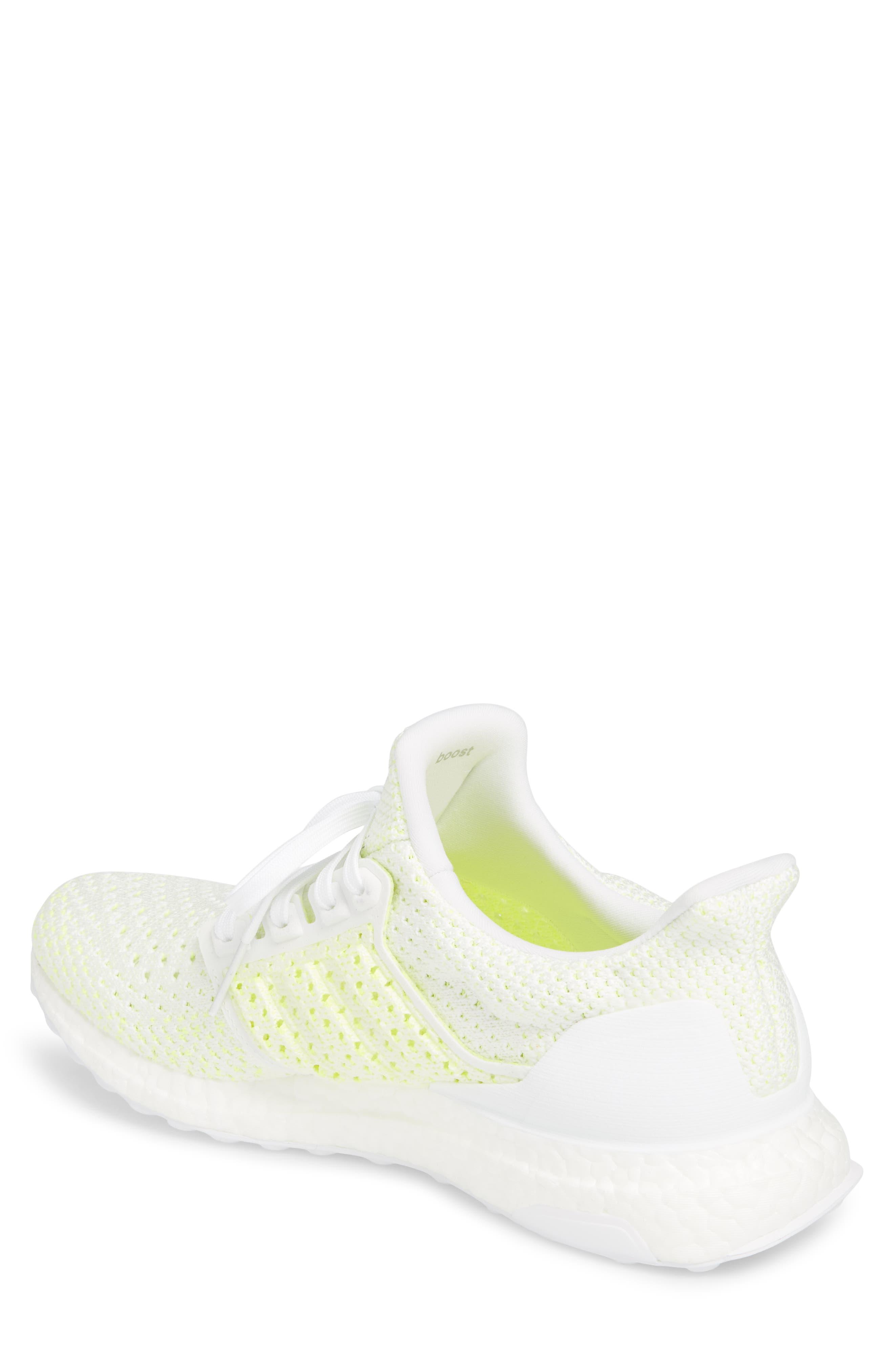 Ultraboost x Clima Running Shoe,                             Alternate thumbnail 2, color,                             WHITE/ WHITE/ SOLAR RED