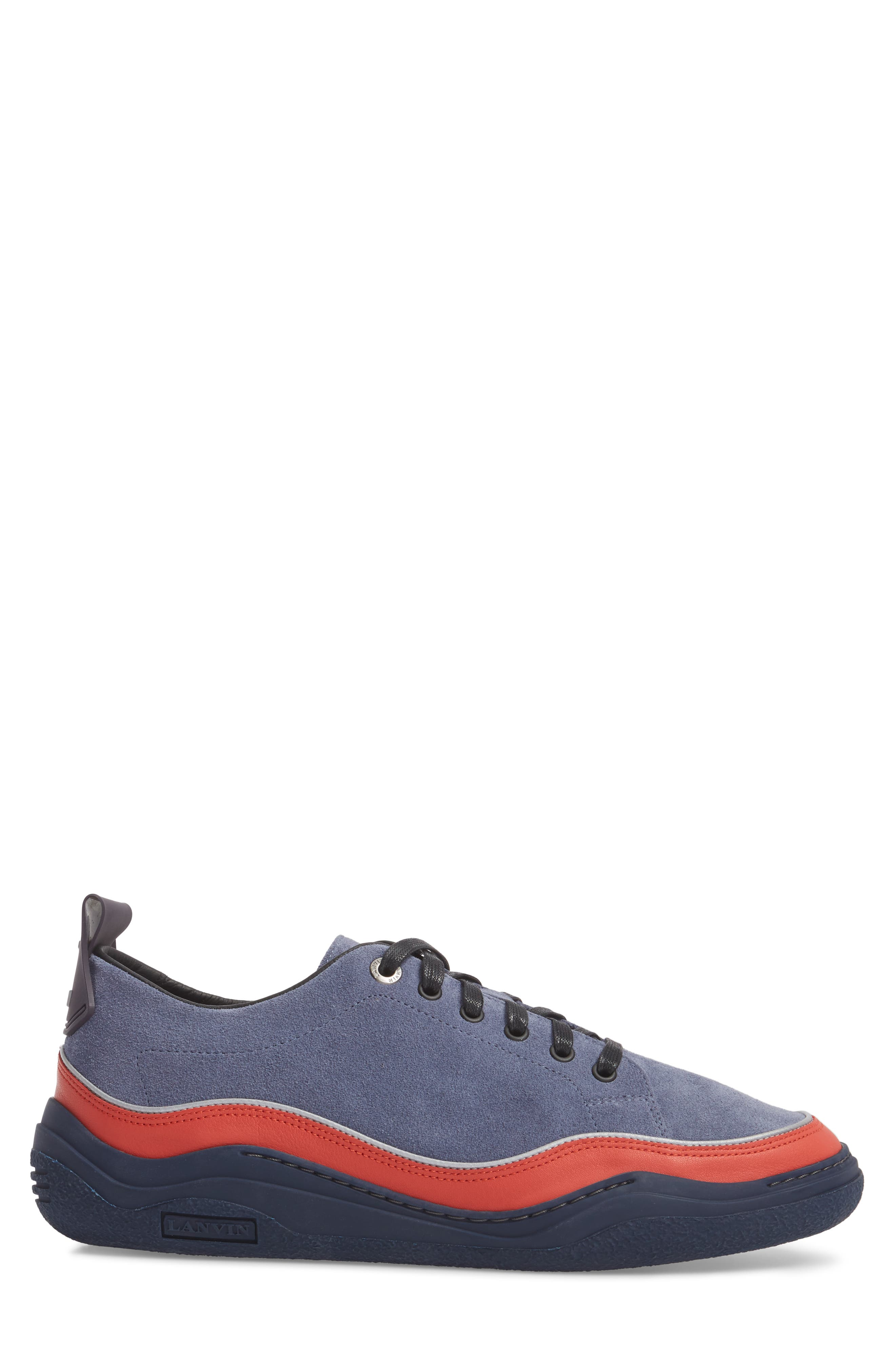 LANVIN,                             Diving Sneaker,                             Alternate thumbnail 3, color,                             450