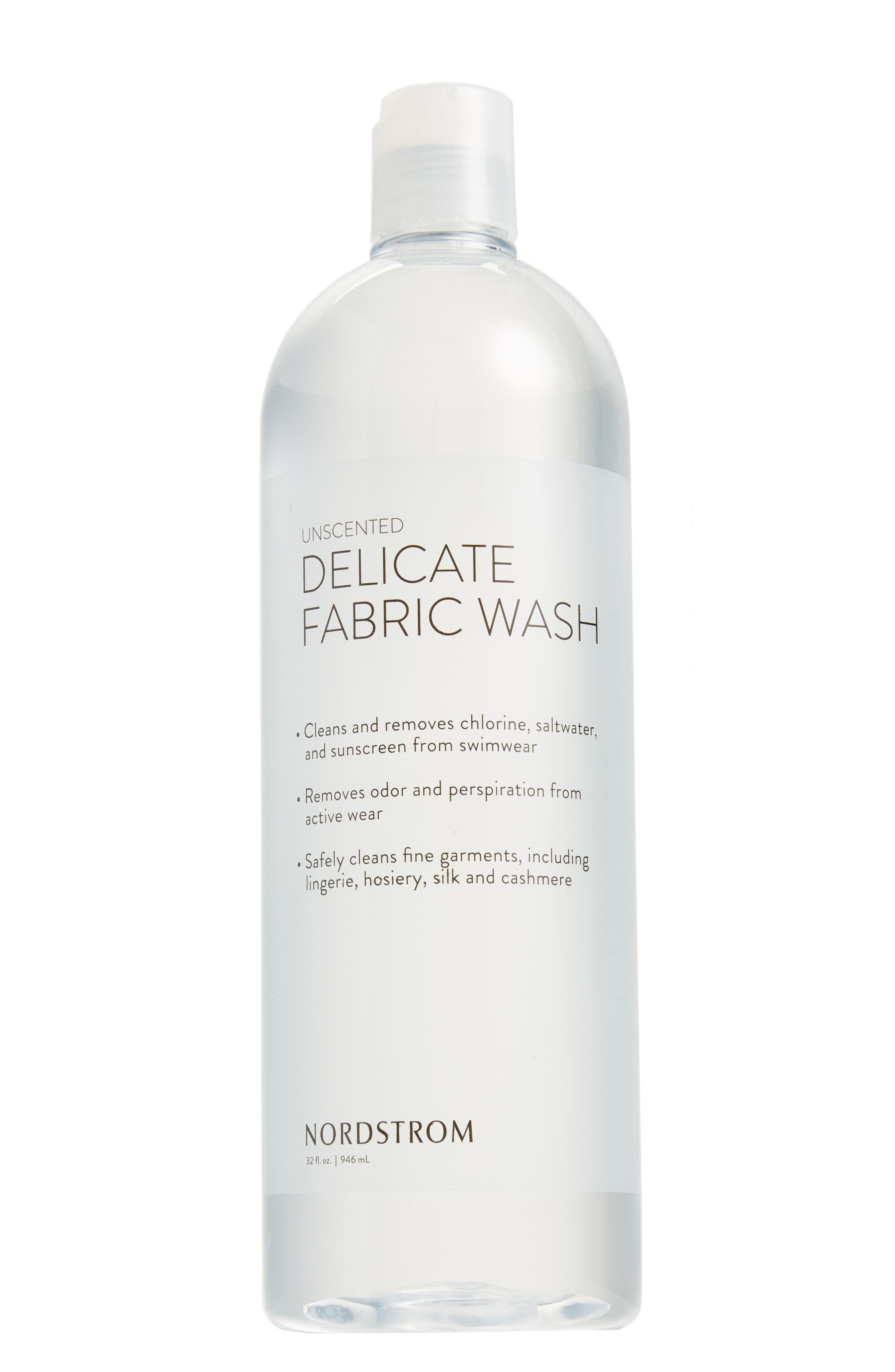 32 oz. Fragrance Free Fabric Wash,                             Main thumbnail 1, color,                             CLEAR