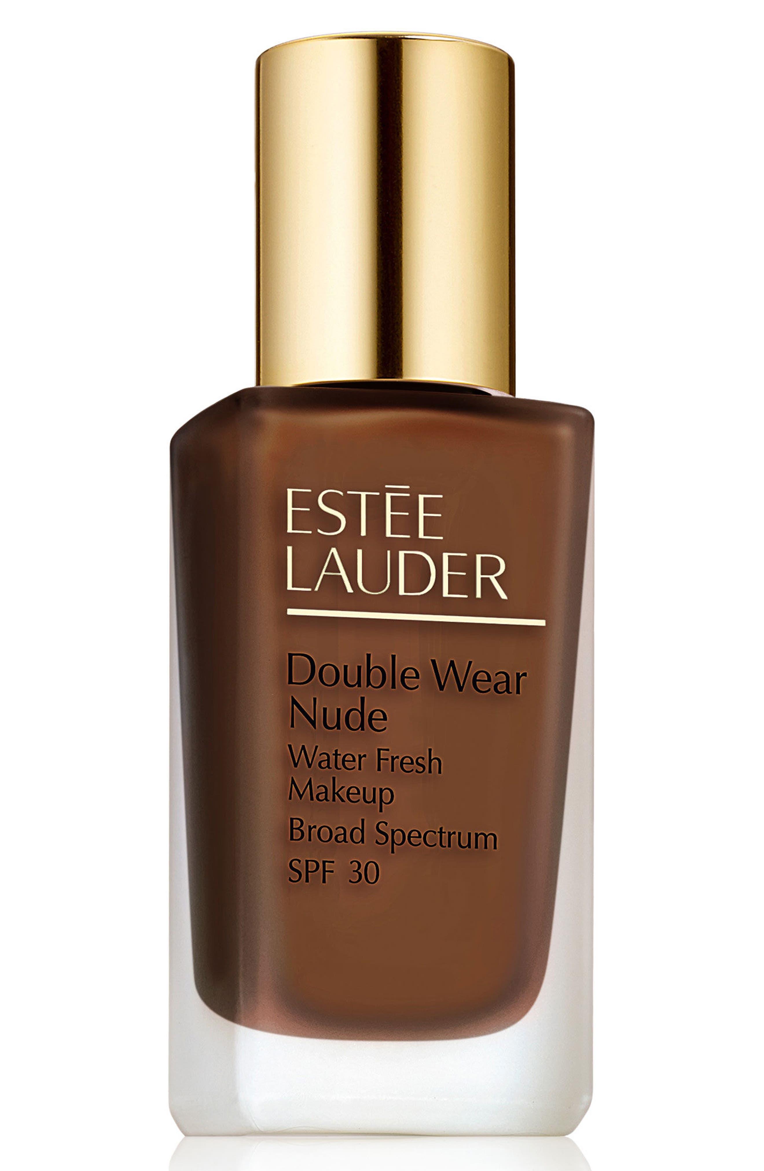 Estee Lauder Double Wear Nude Water Fresh Makeup Broad Spectrum Spf 30 - 7N1 Deep Amber