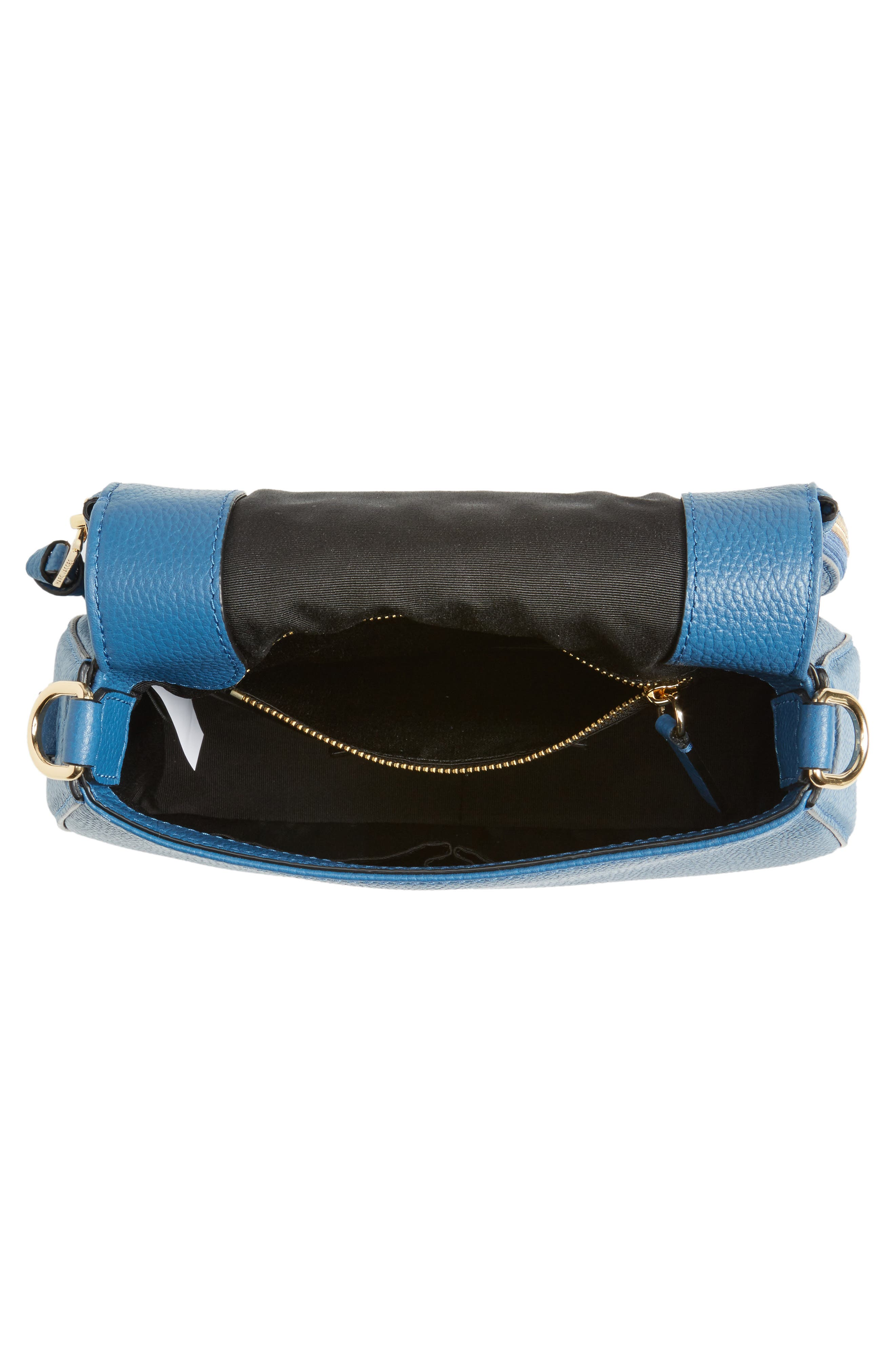 Small Recruit Nomad Pebbled Leather Crossbody Bag,                             Alternate thumbnail 43, color,