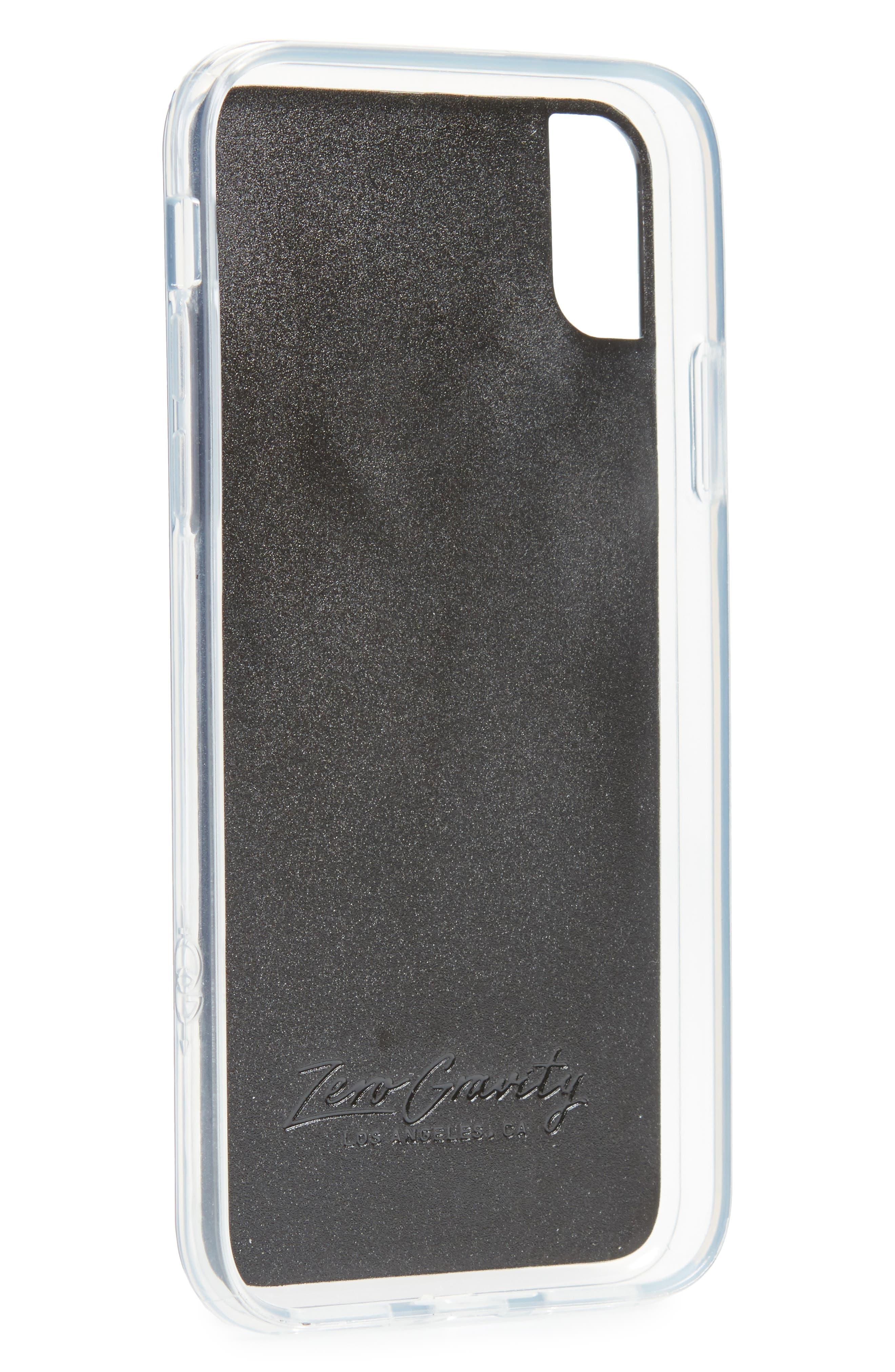 Burn iPhone X Case,                             Alternate thumbnail 2, color,                             600