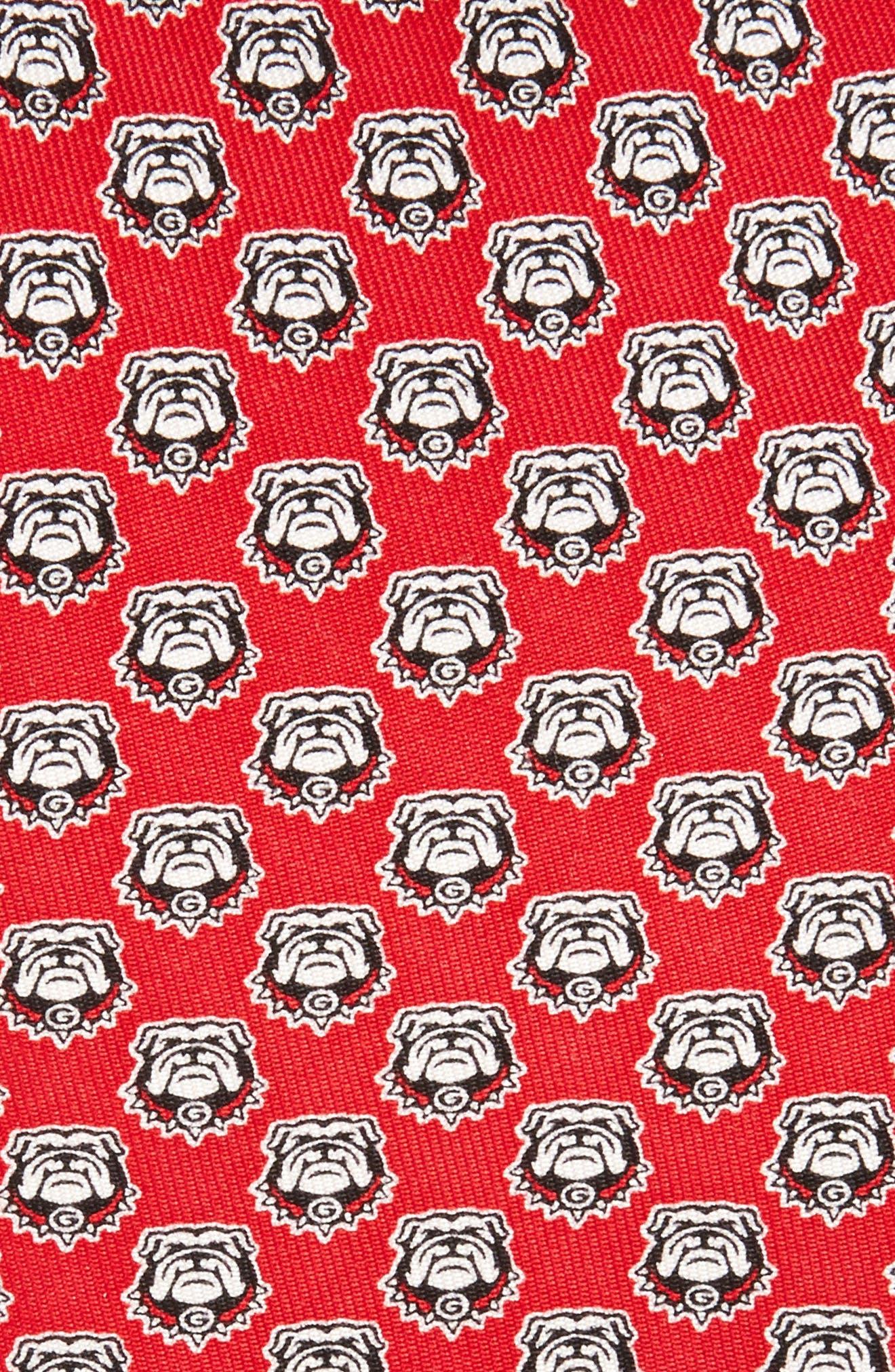 University of Georgia Silk Tie,                             Alternate thumbnail 2, color,                             614