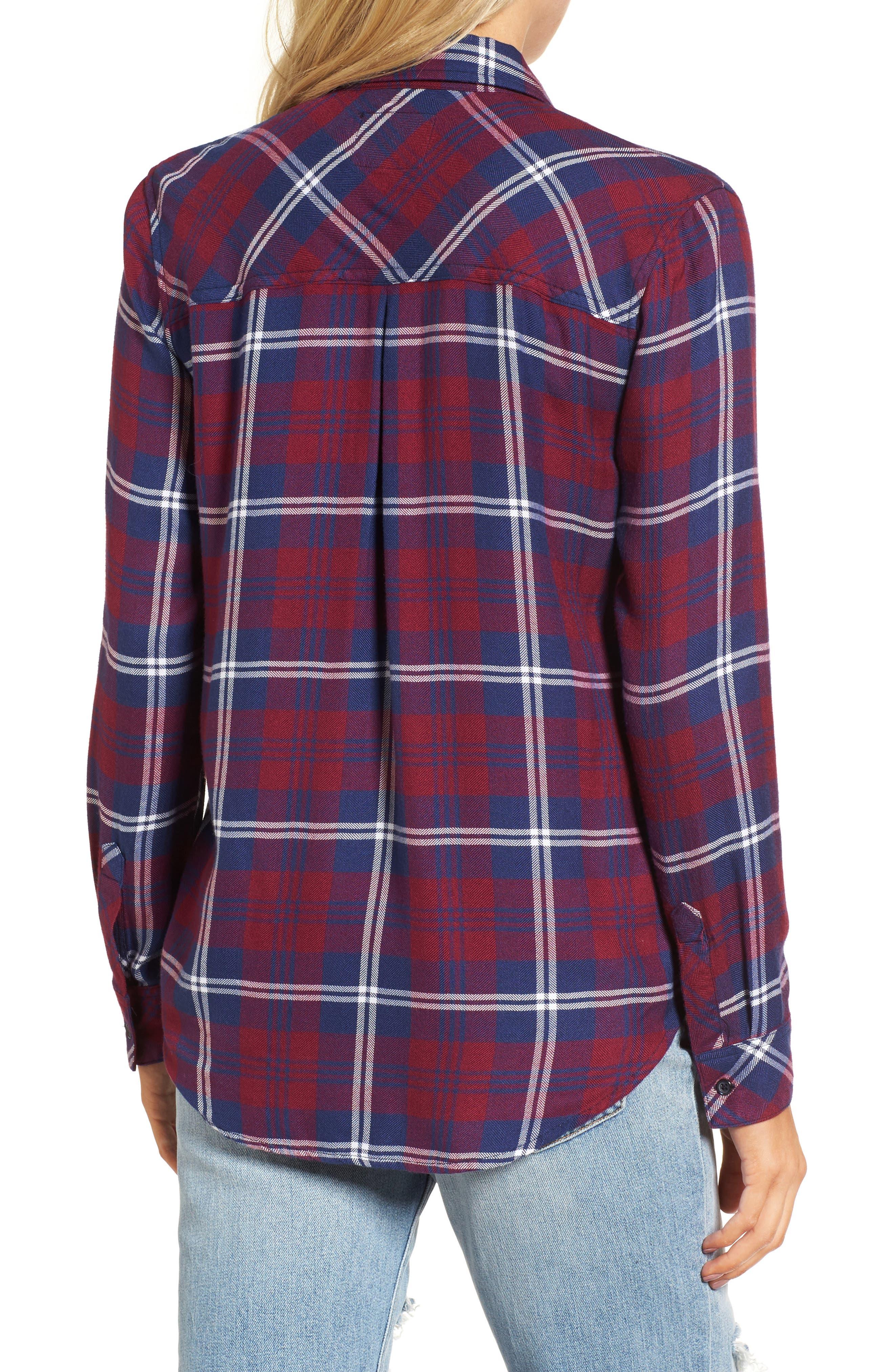 Hunter Plaid Shirt,                             Alternate thumbnail 182, color,