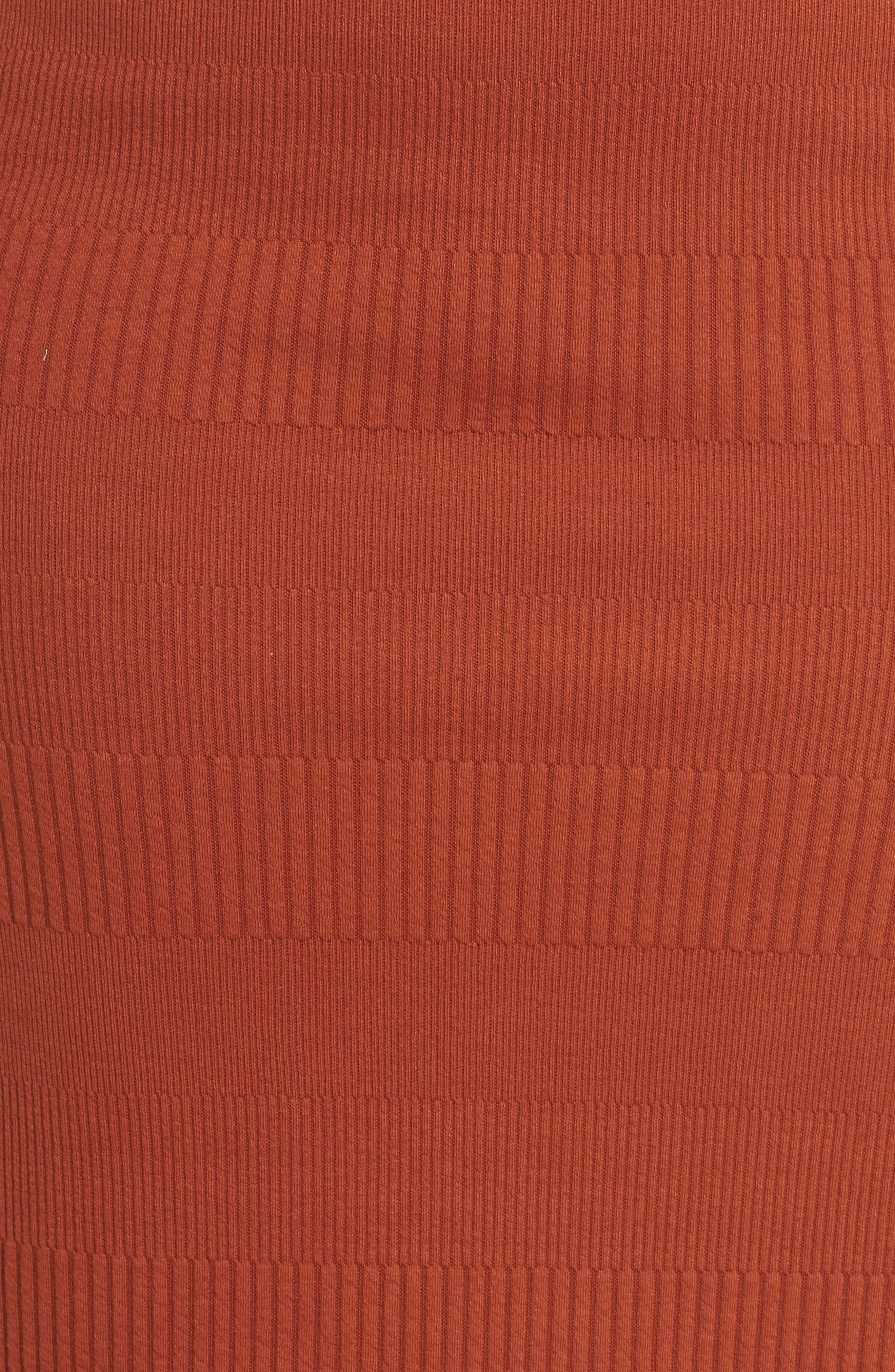 Midi Pencil Skirt,                             Alternate thumbnail 5, color,                             210