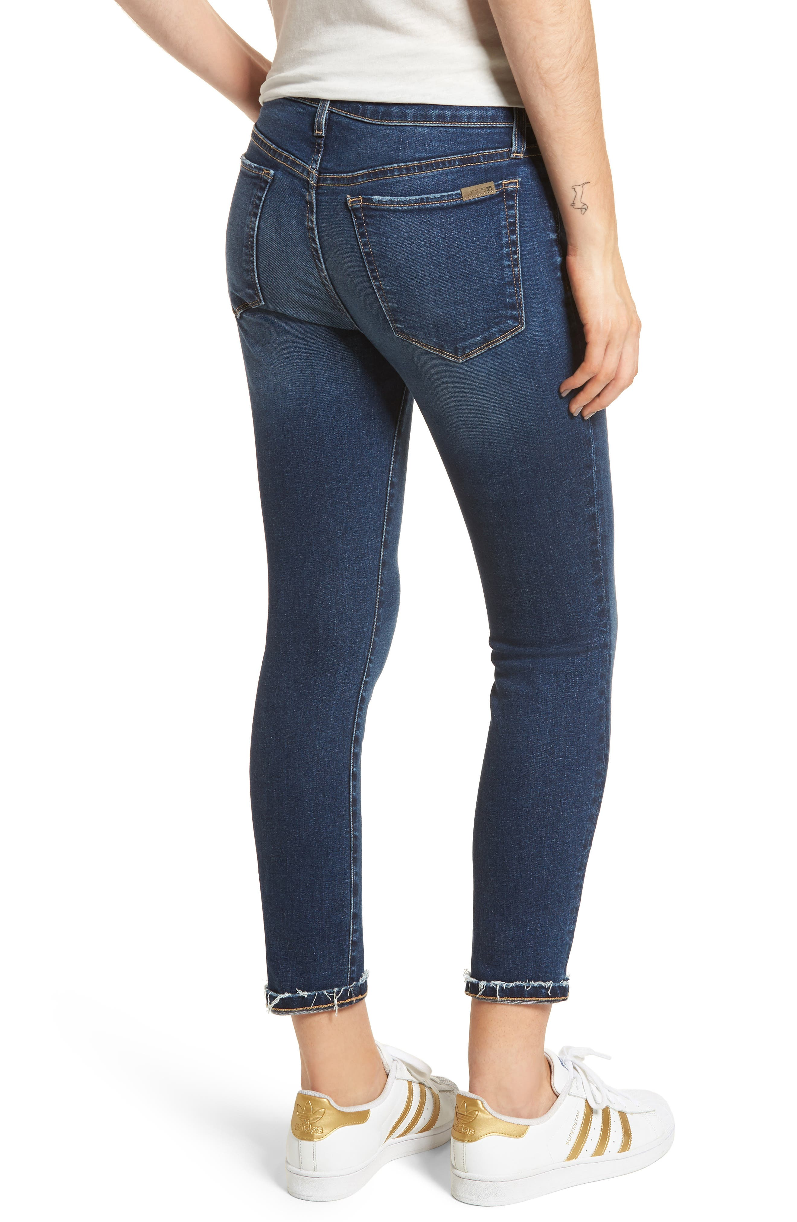 Flawless - Icon Crop Skinny Jeans,                             Alternate thumbnail 2, color,                             MADISEN