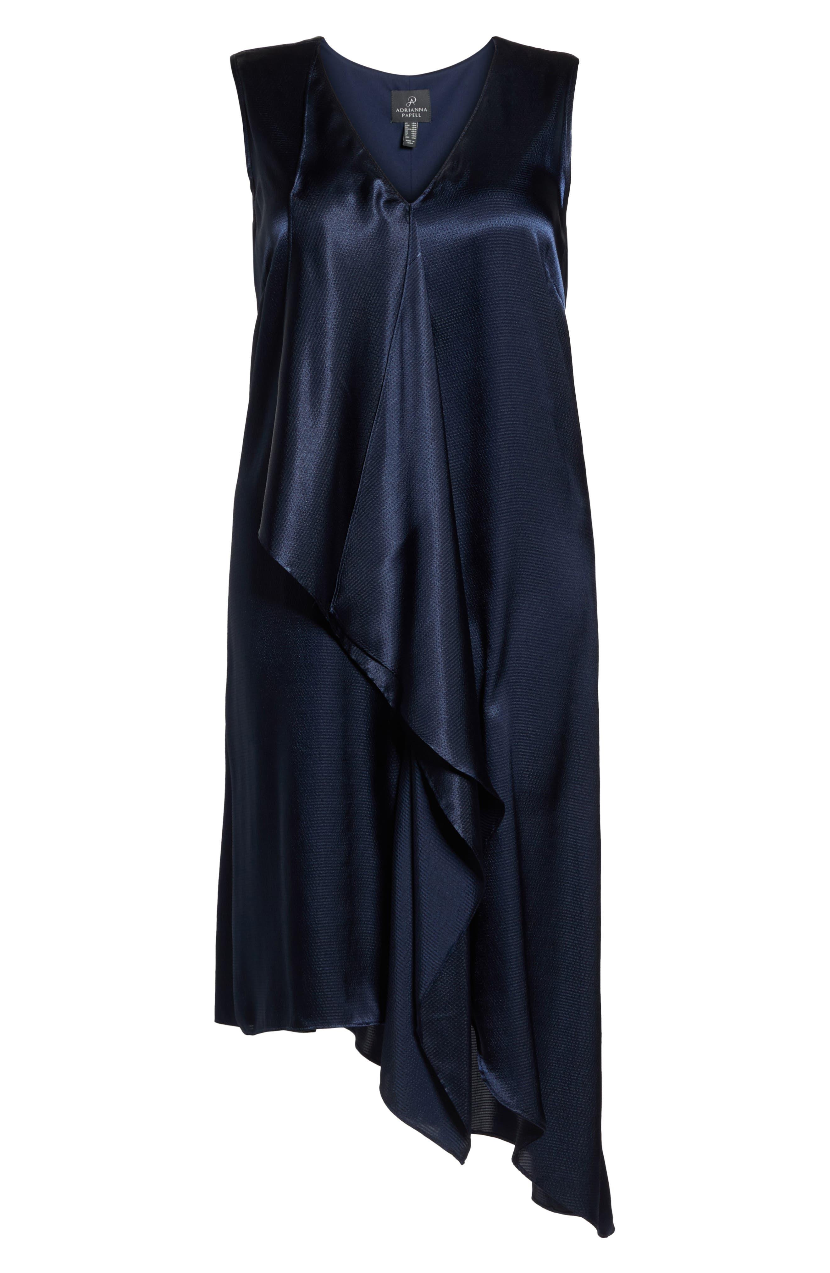 Asymmetrical Trapeze Dress,                             Alternate thumbnail 6, color,